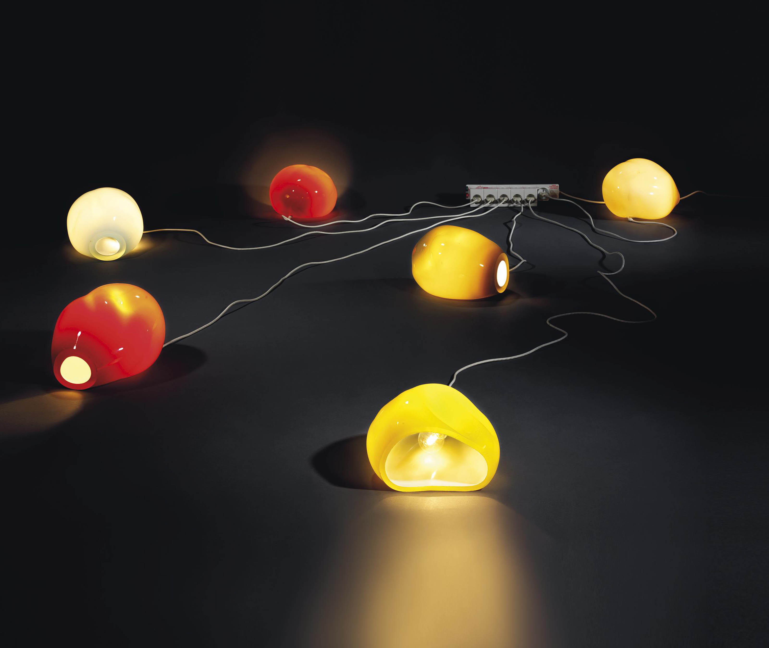 Untitled (Six Lamps)