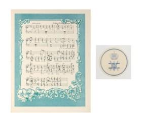 SOKOLOV, Nikolai Aleksandrovich (1859-1922) Autograph music