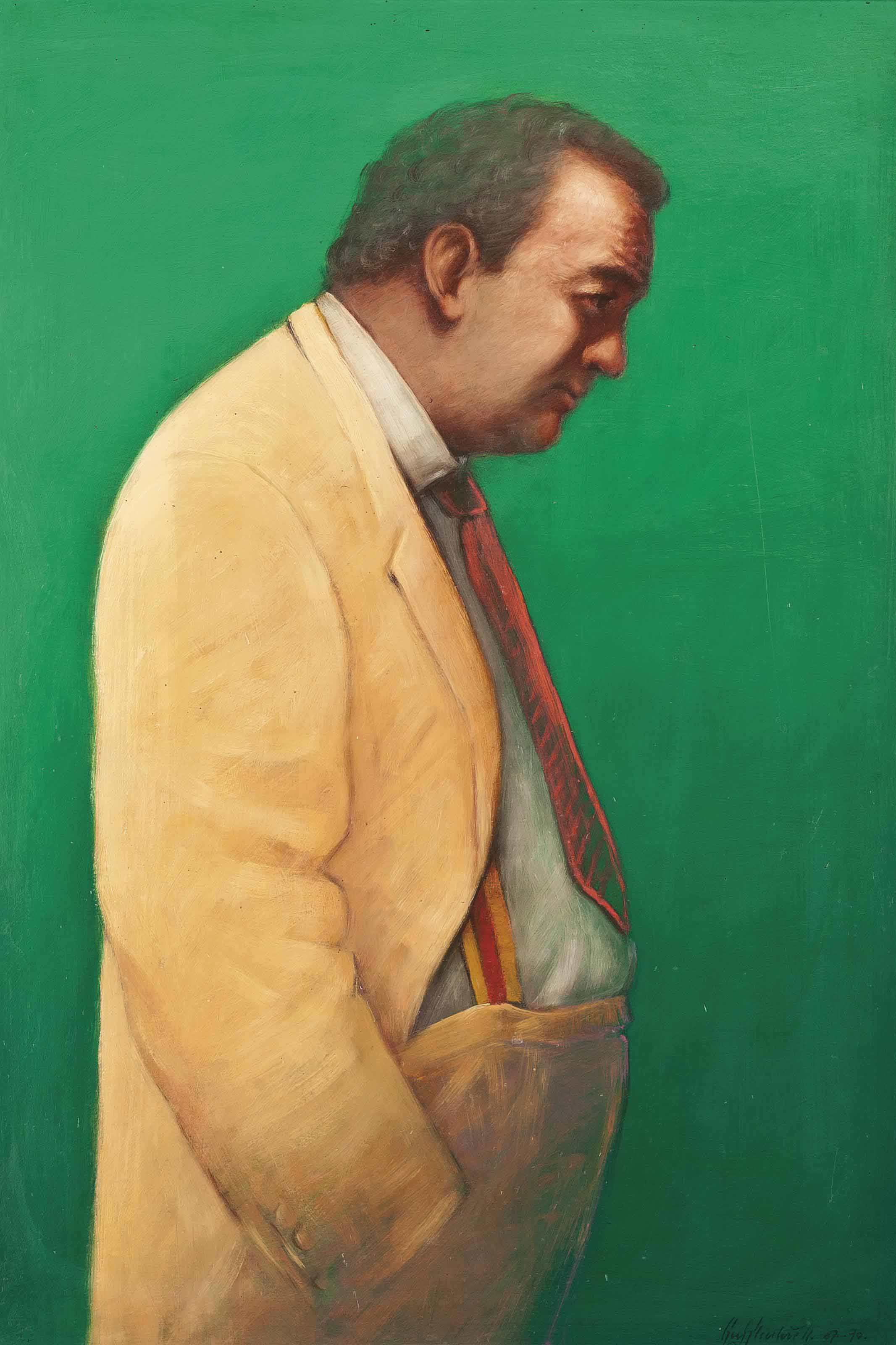 Portrait of Peter Langan