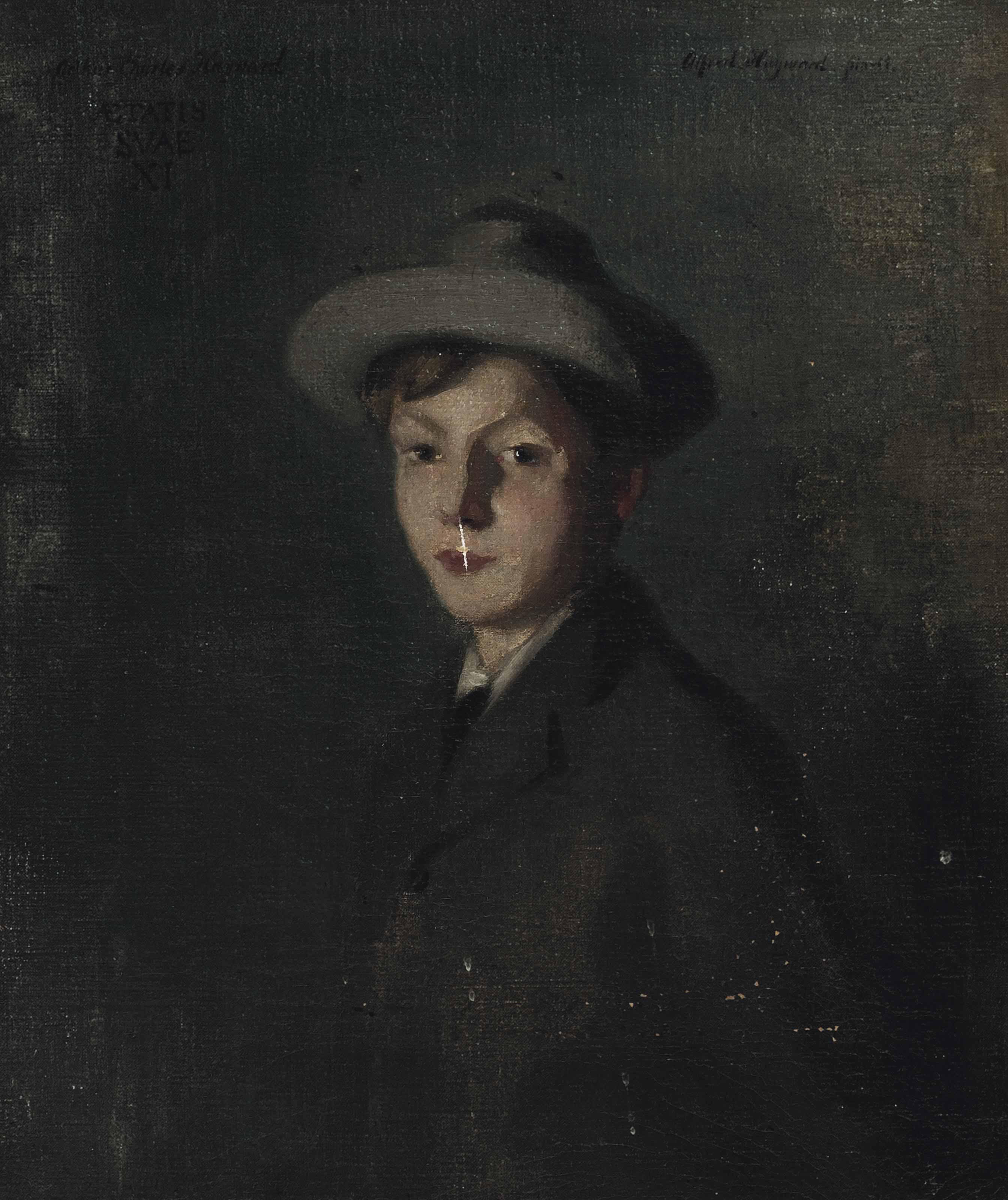 Portrait of Arthur Charles Hayward aged 11