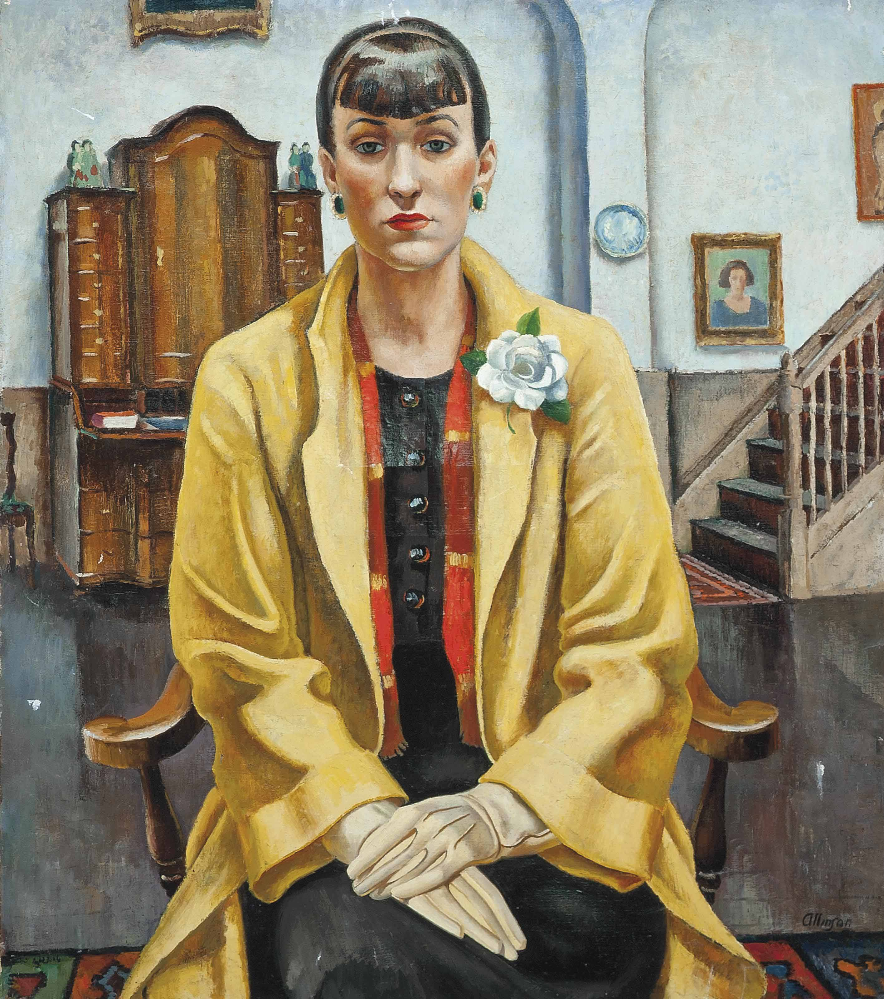 Dorothy in the yellow coat