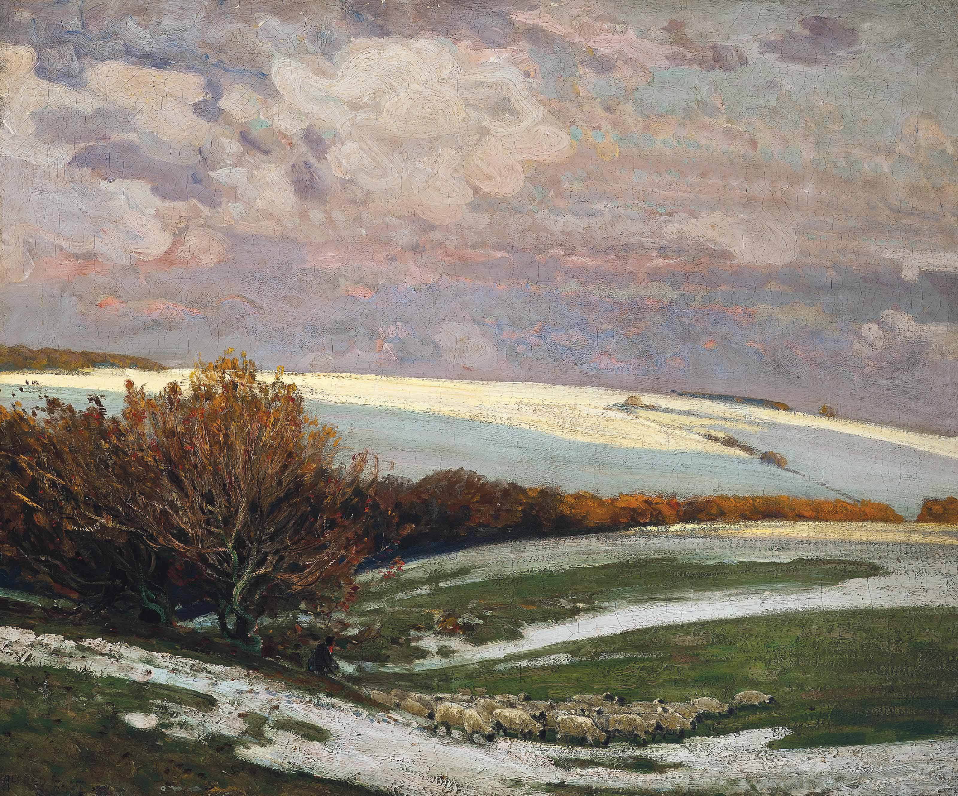 Snow on the Downs