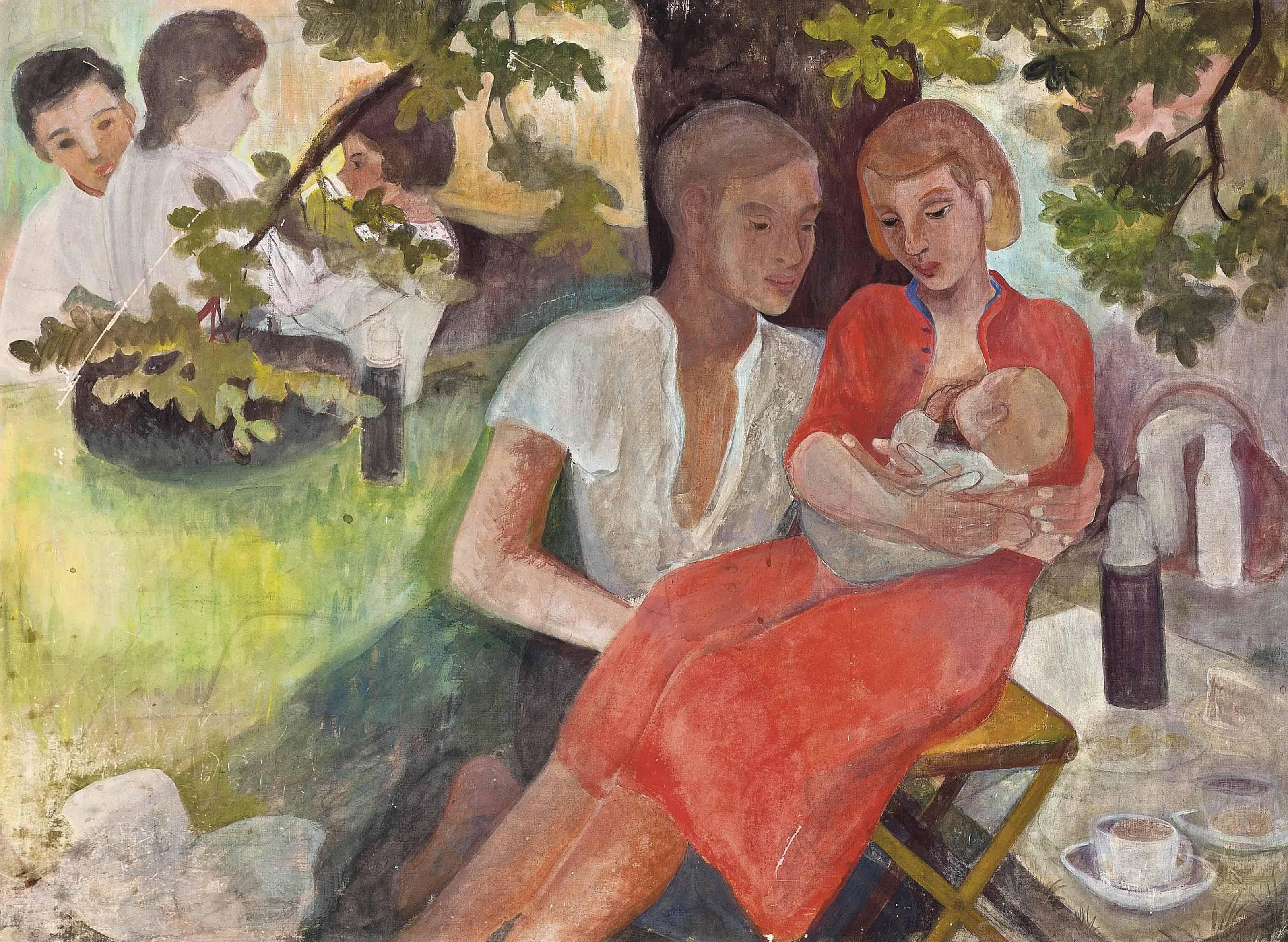 A family picnic