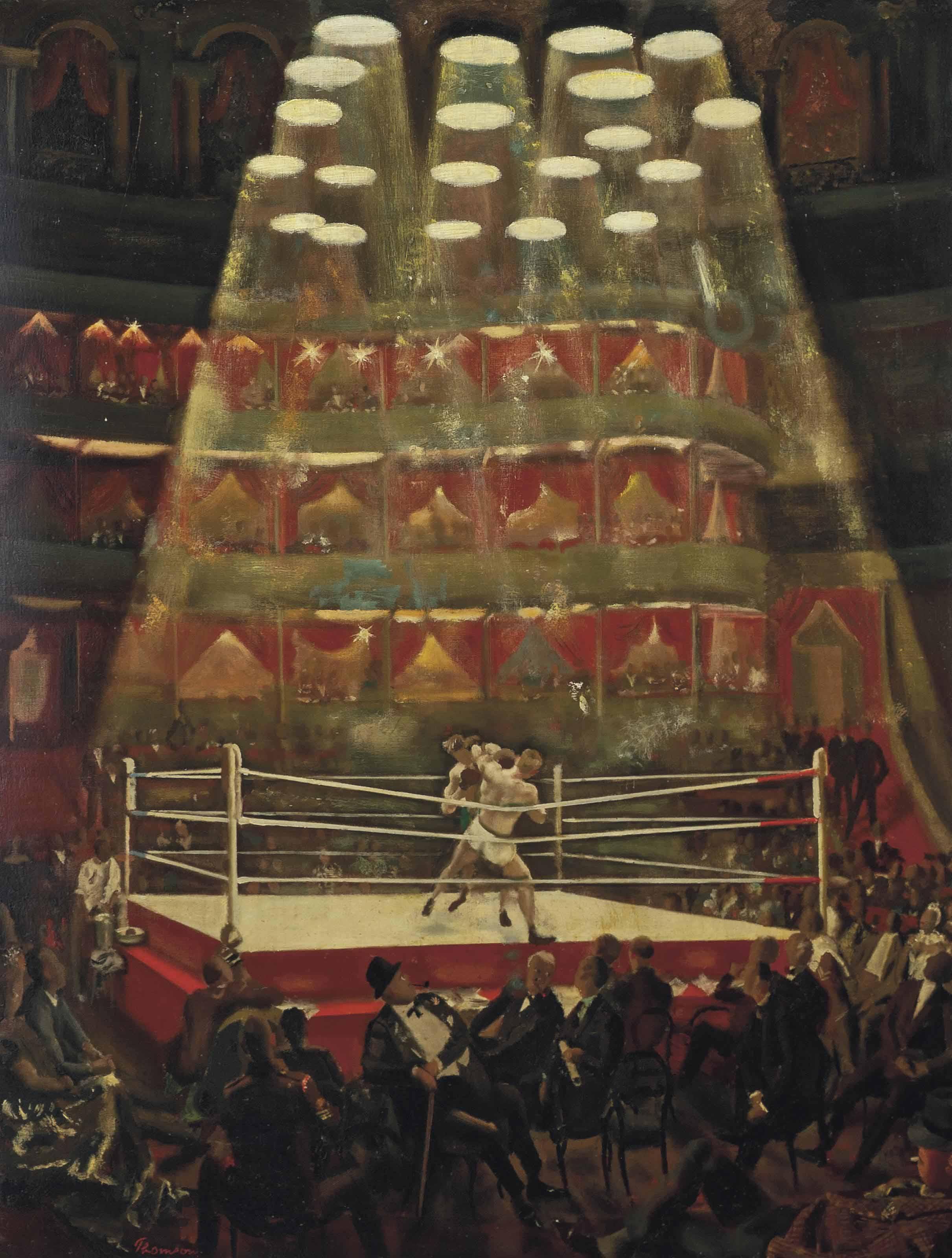 The London Amateur Boxing Championship held at the Royal Albert Hall, 1948