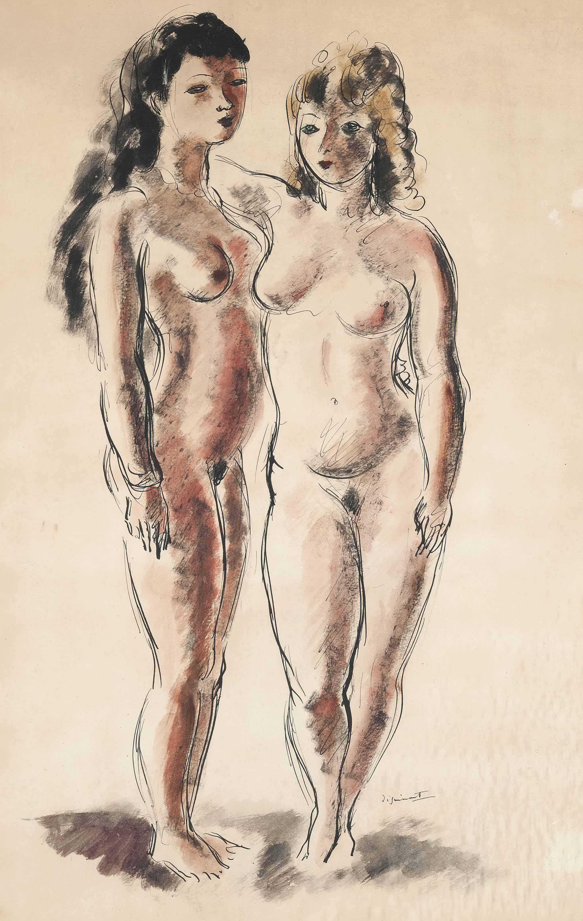 Two nudes