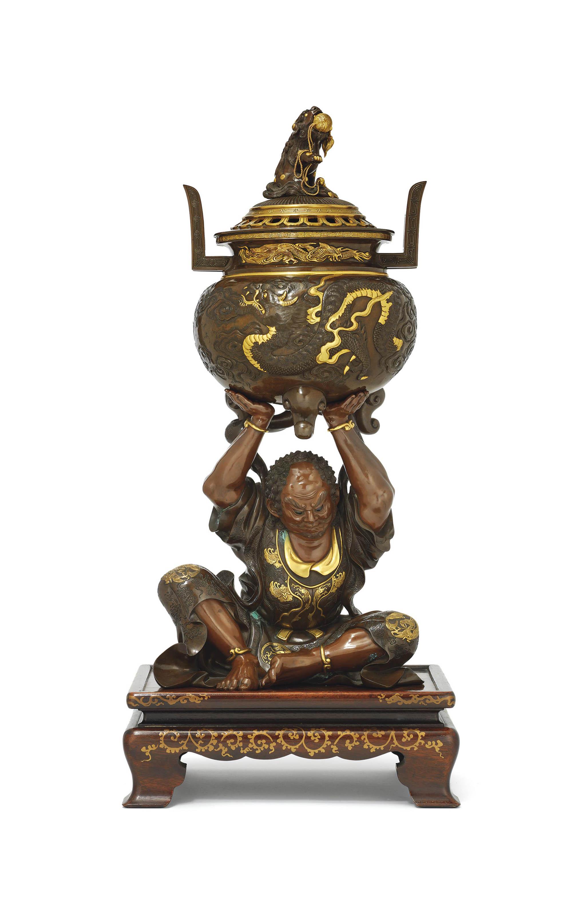 A Fine Large Bronze Koro [Incense Burner]