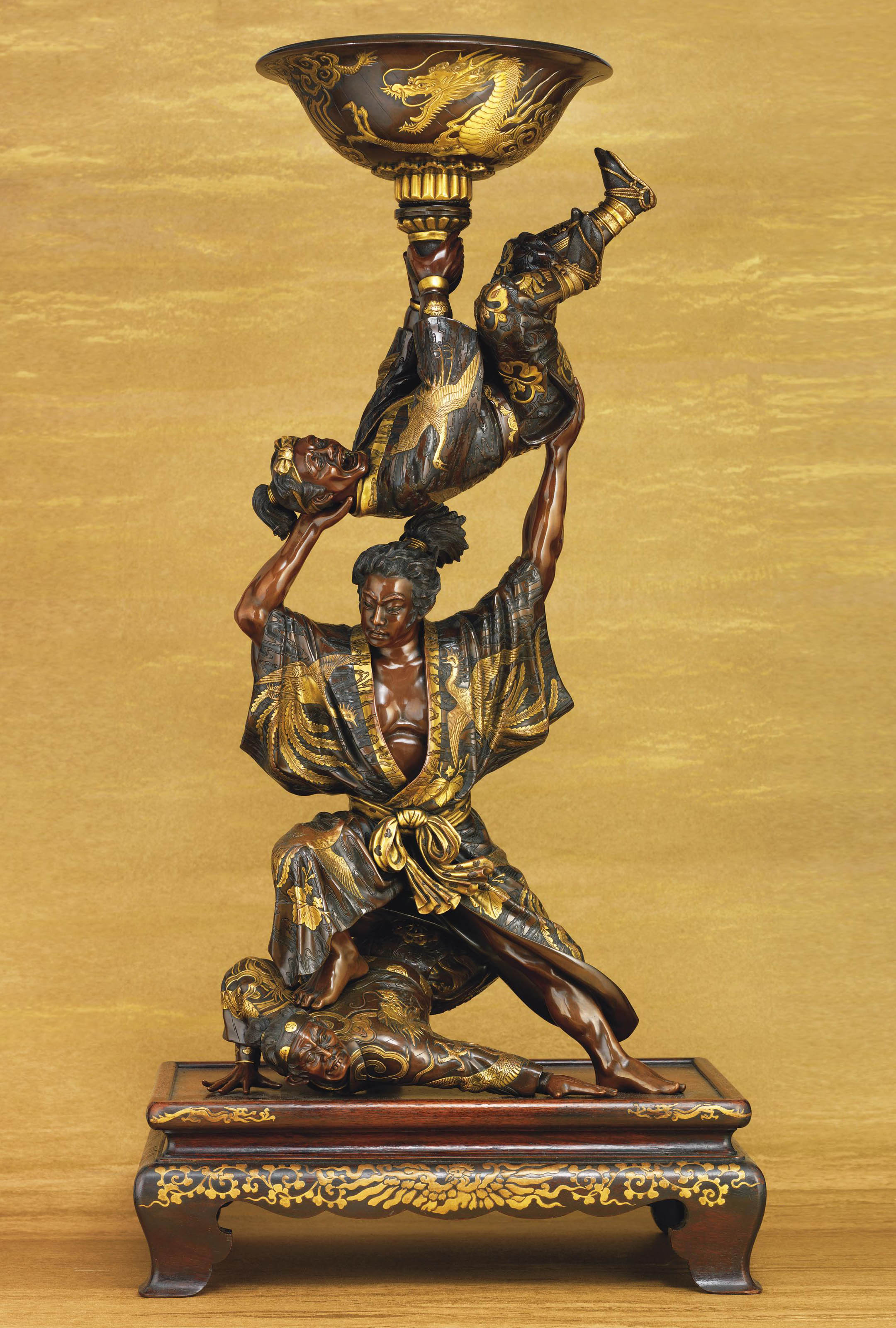 A Magnificent Bronze Sculpture