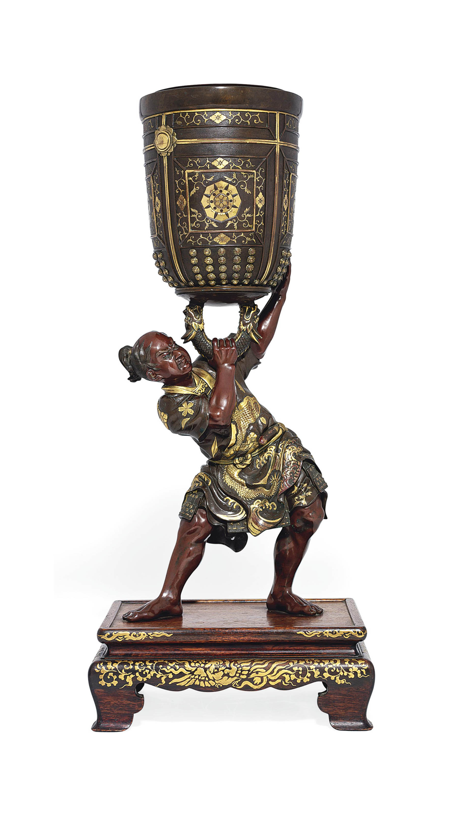 An Impressive Bronze Sculpture