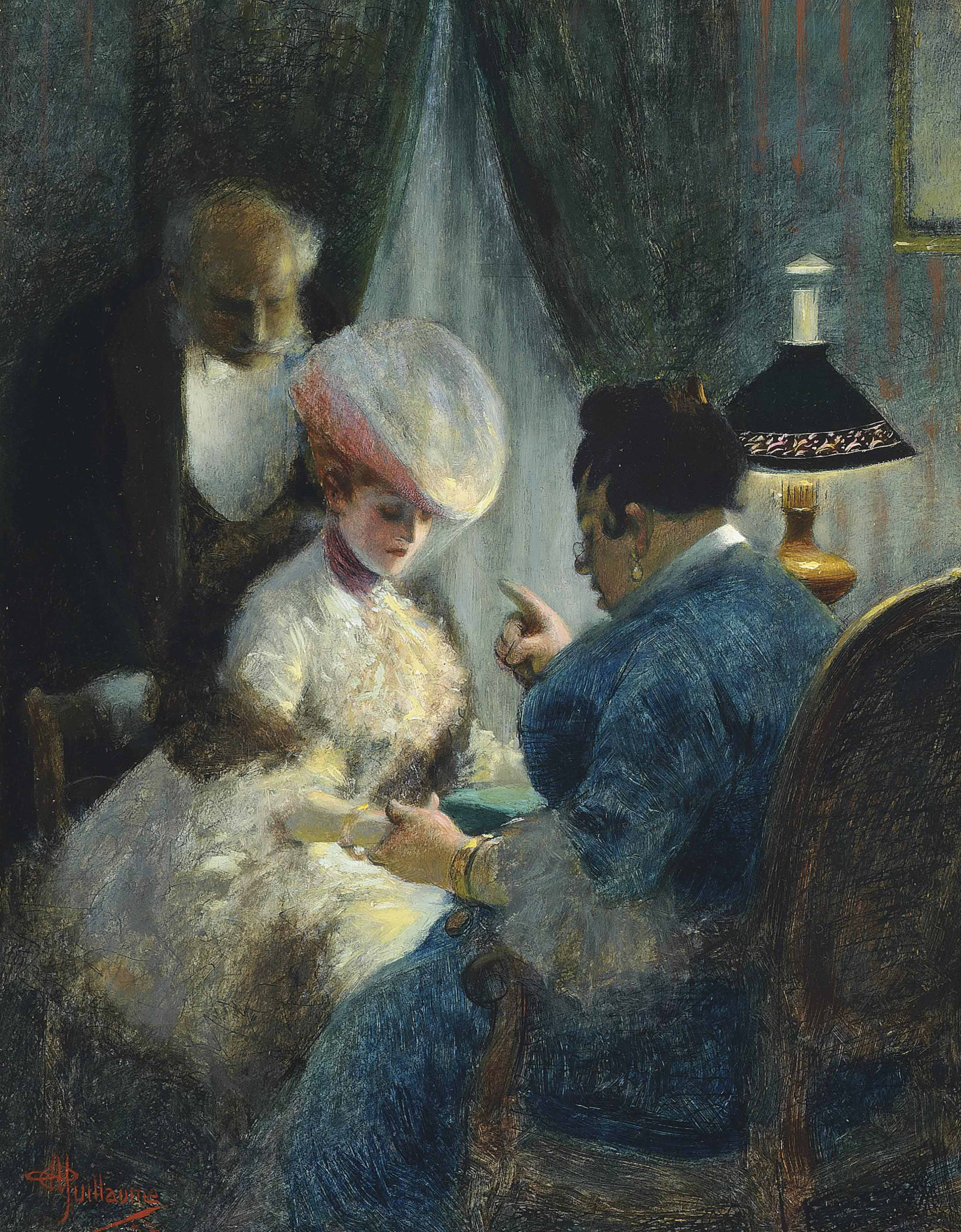 A visit to the fortune teller