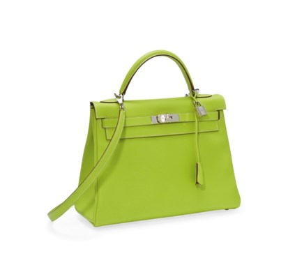 A KIWI LEATHER WITH OLIVE GREE
