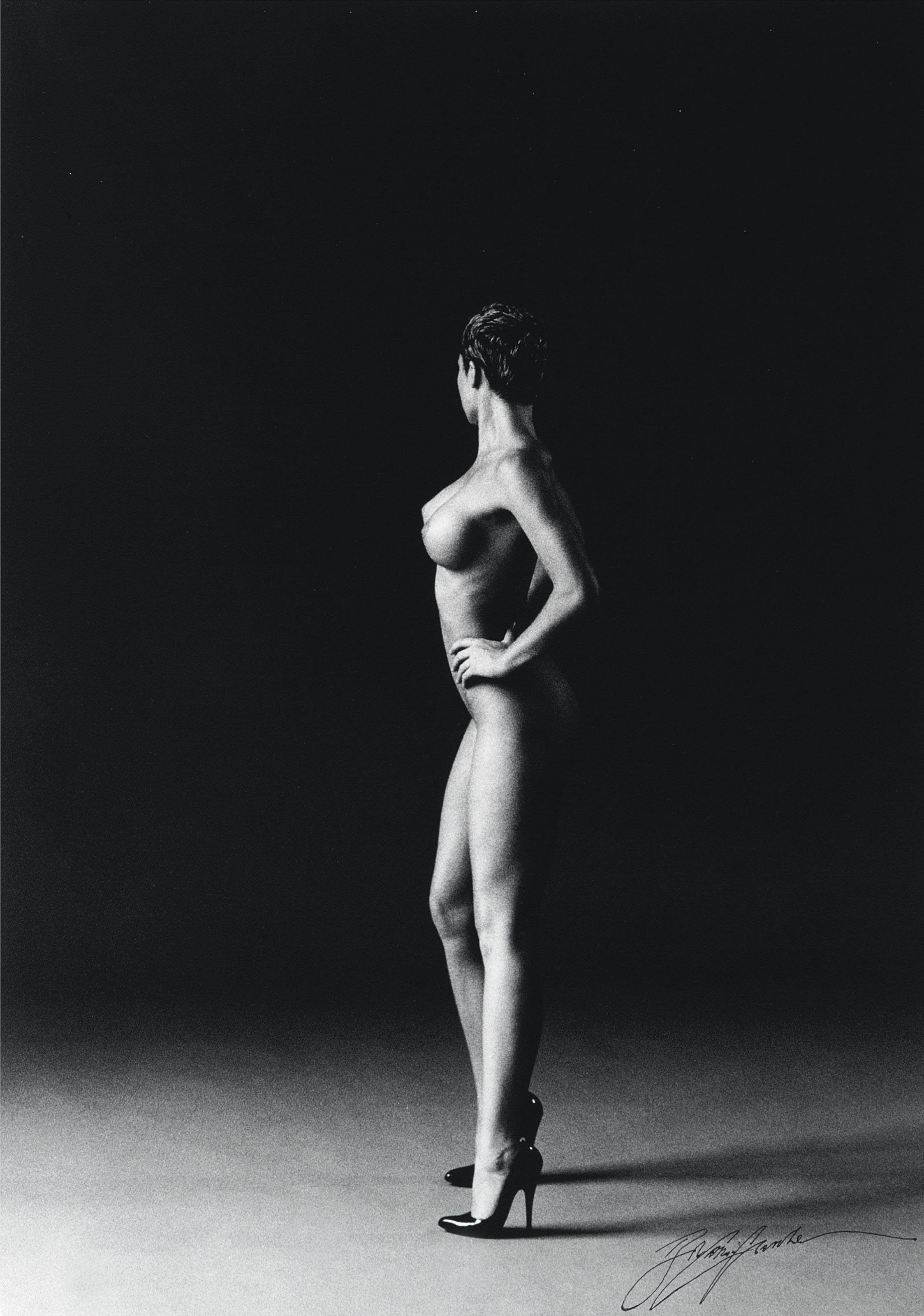 Standing nude, circa 1990
