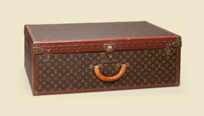 AN ALZER ANGLAIS SUITCASE IN M
