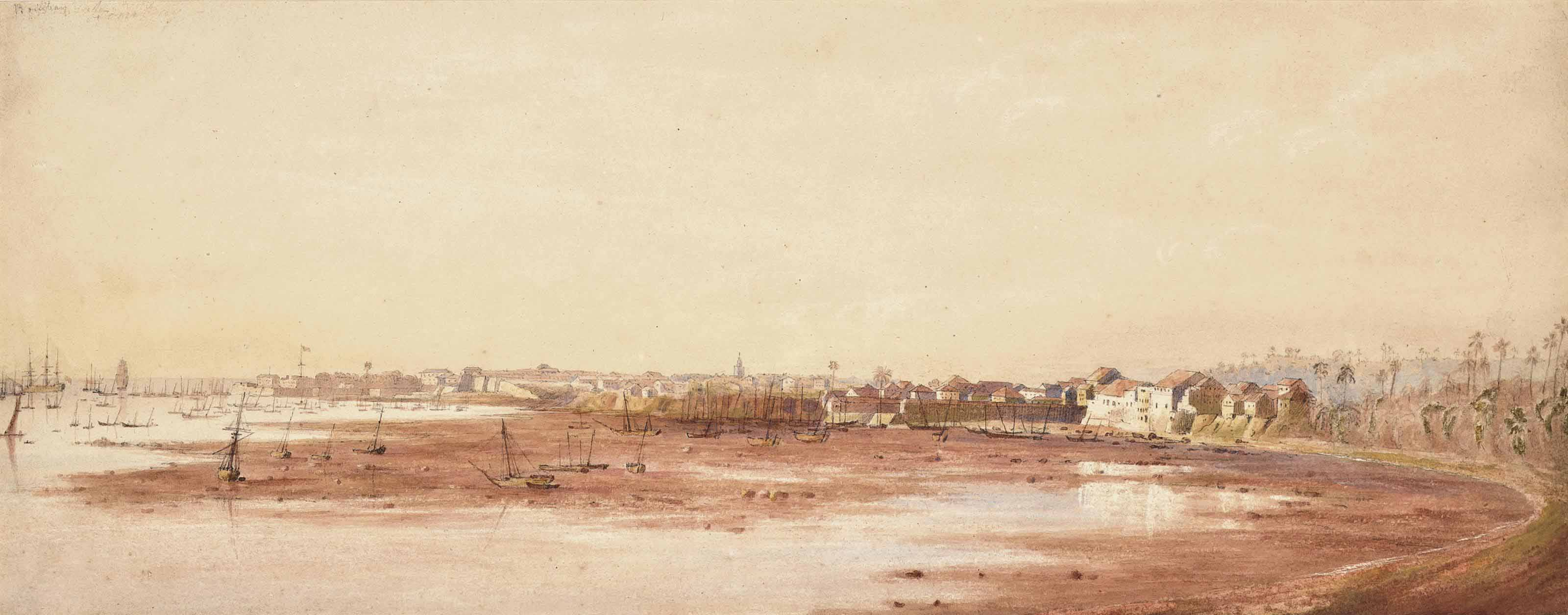 A view of Bombay