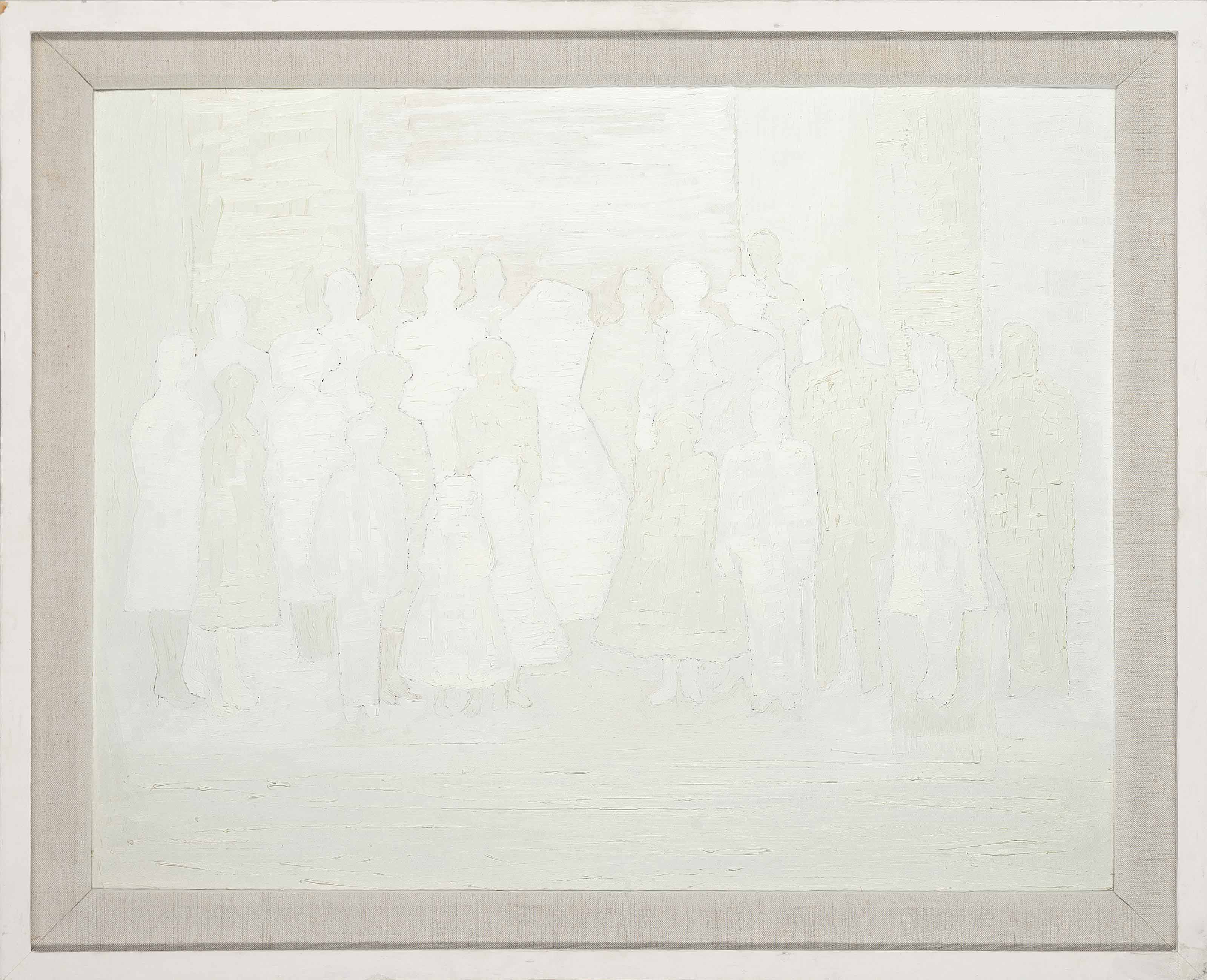 White Abstract (Royal Family)