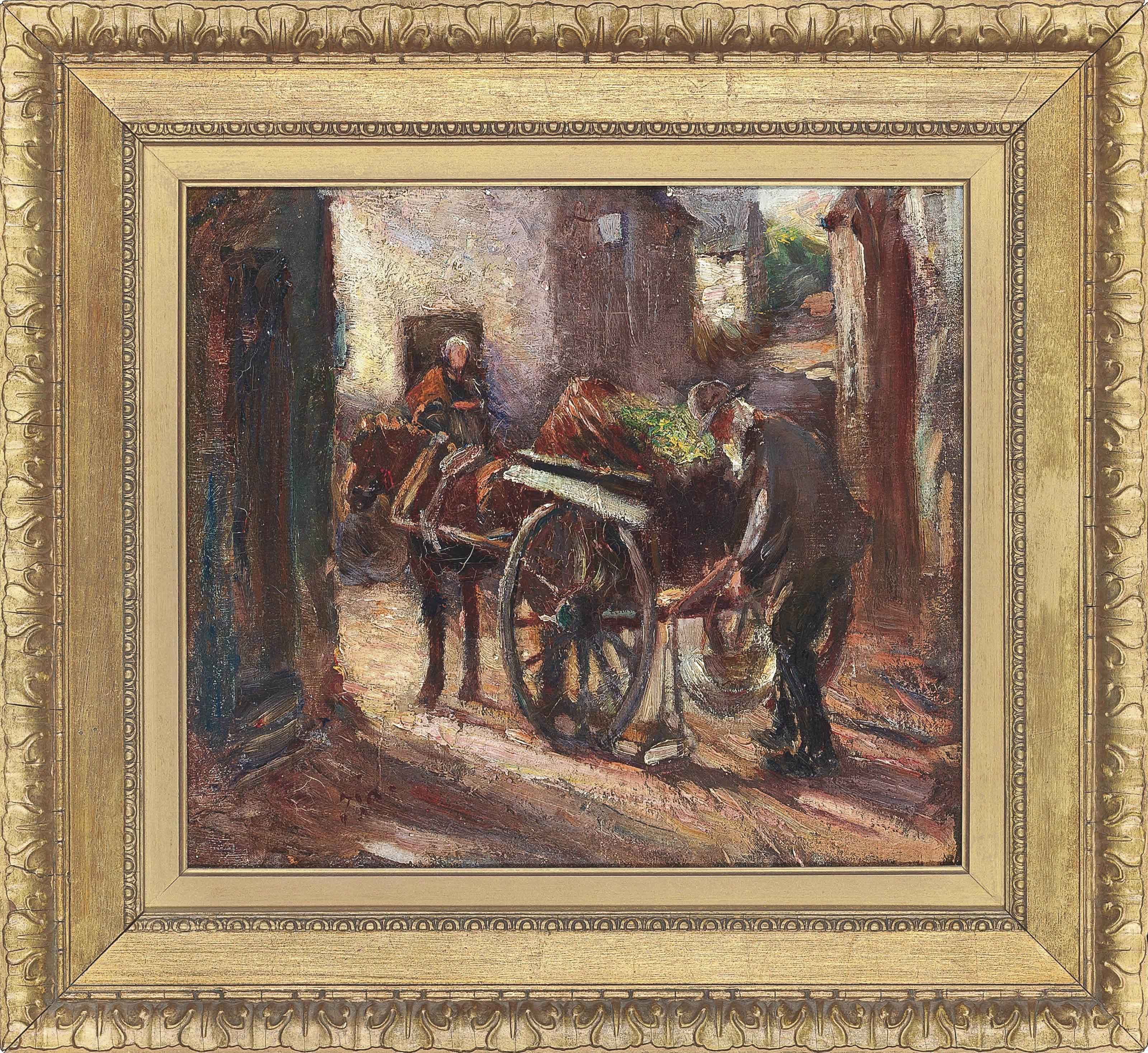 The vegetable cart