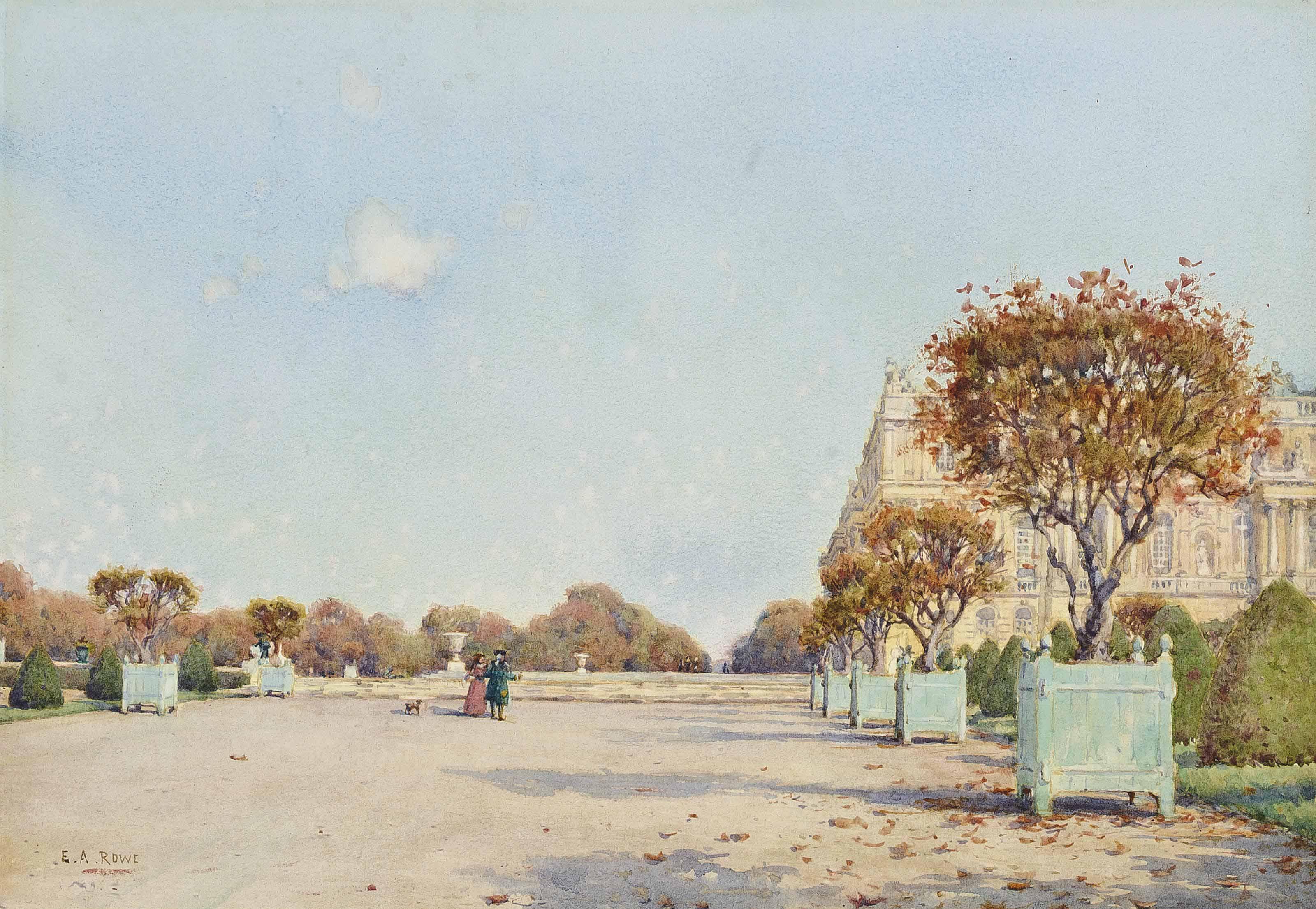 Versailles, October