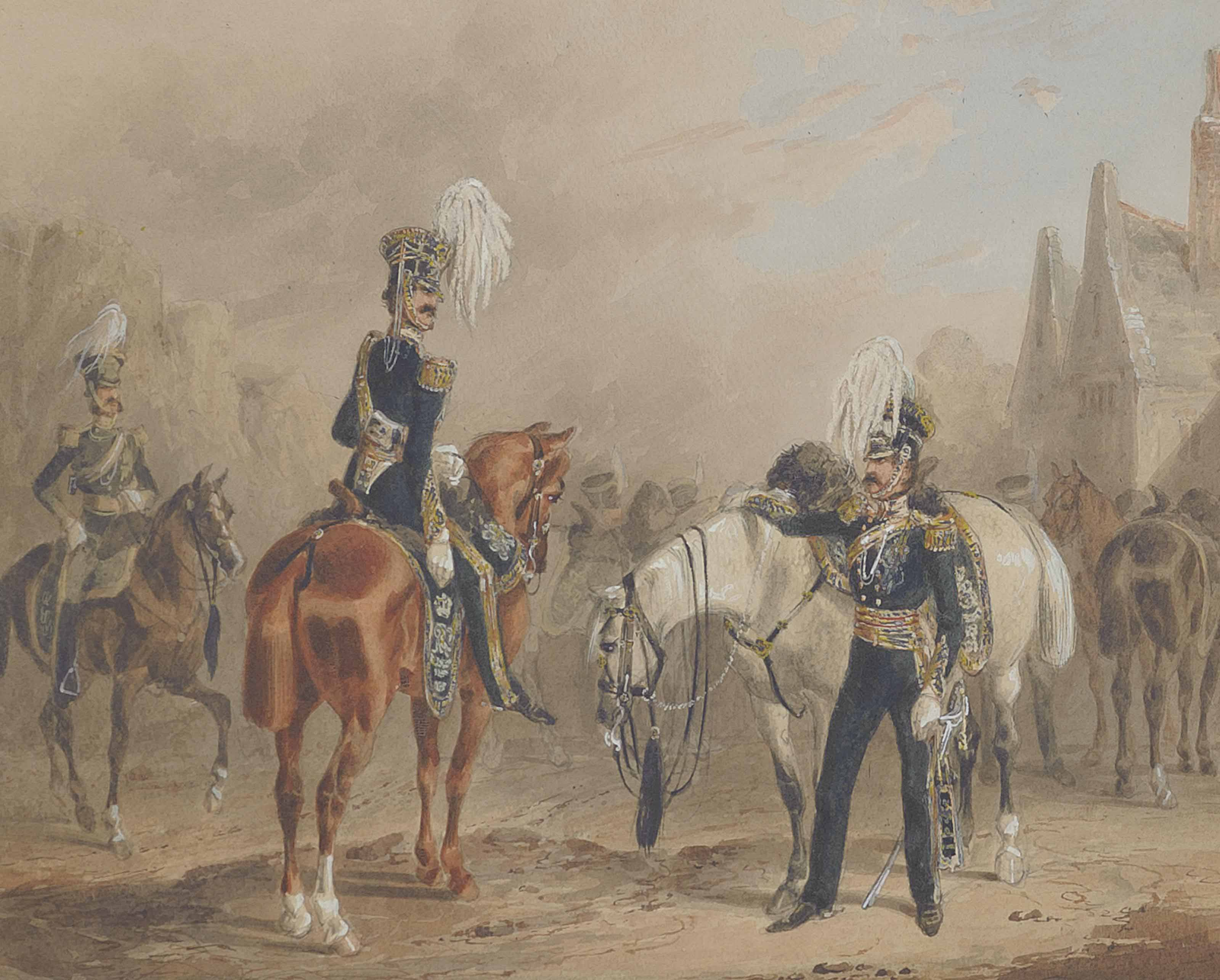 The 13th Light Dragoons: Review order