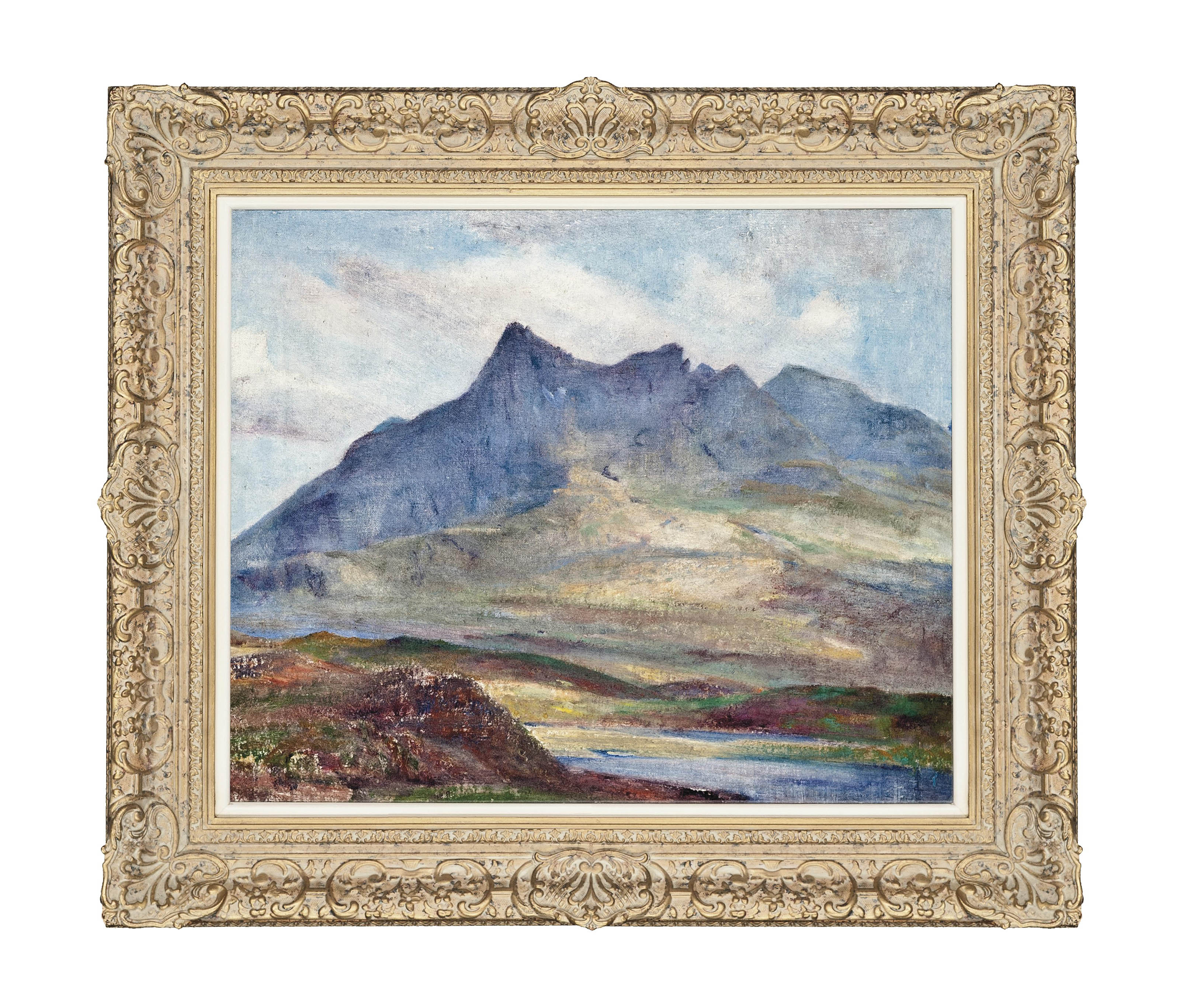 View of the Northern Cuillin, Skye