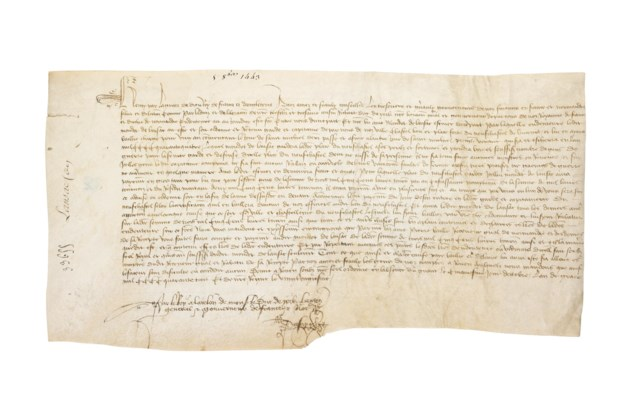 HENRY VI 1421 1471 King Of England Letters Patent