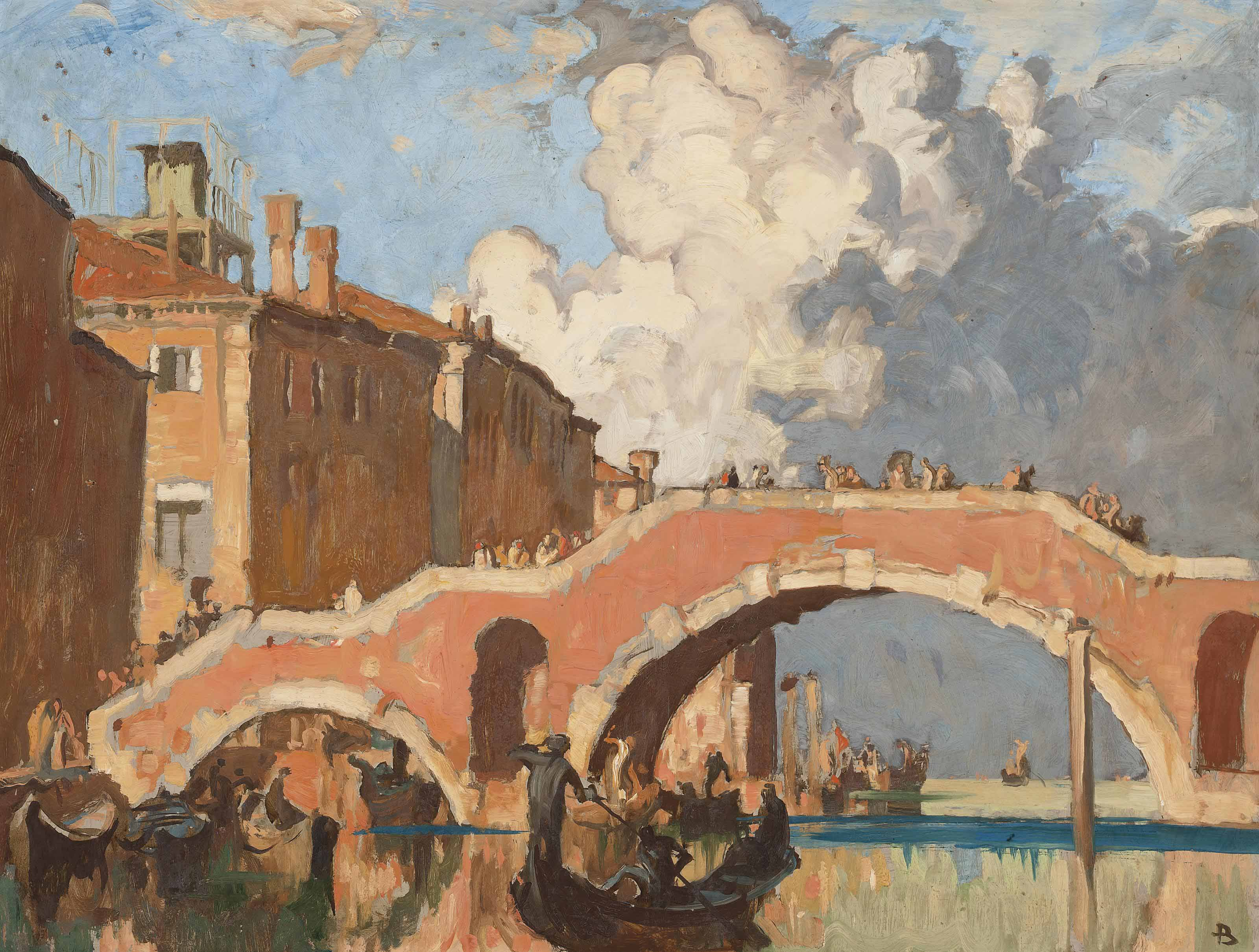 The San Giobbe Bridge, Venice