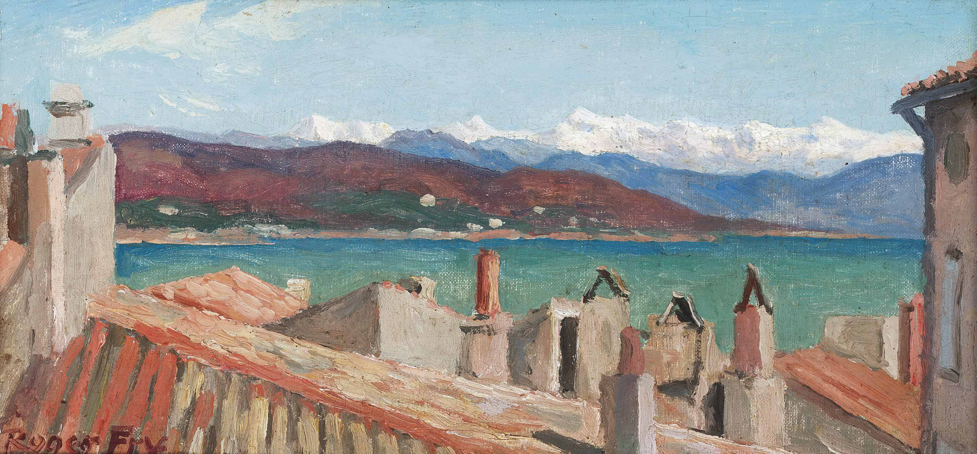 Alpes Maritimes from St. Tropez