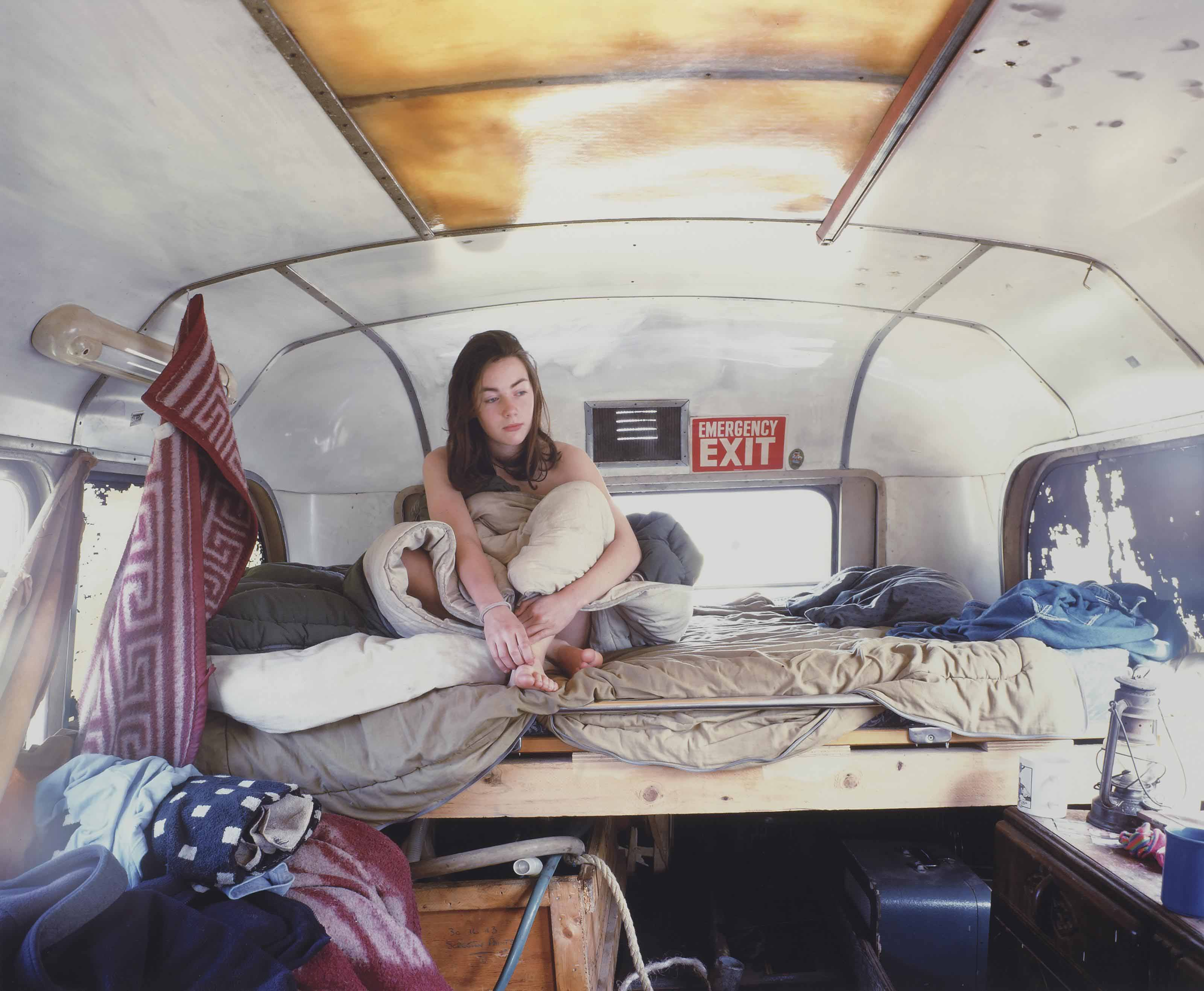 Traveller Series I (Girl in the bus)