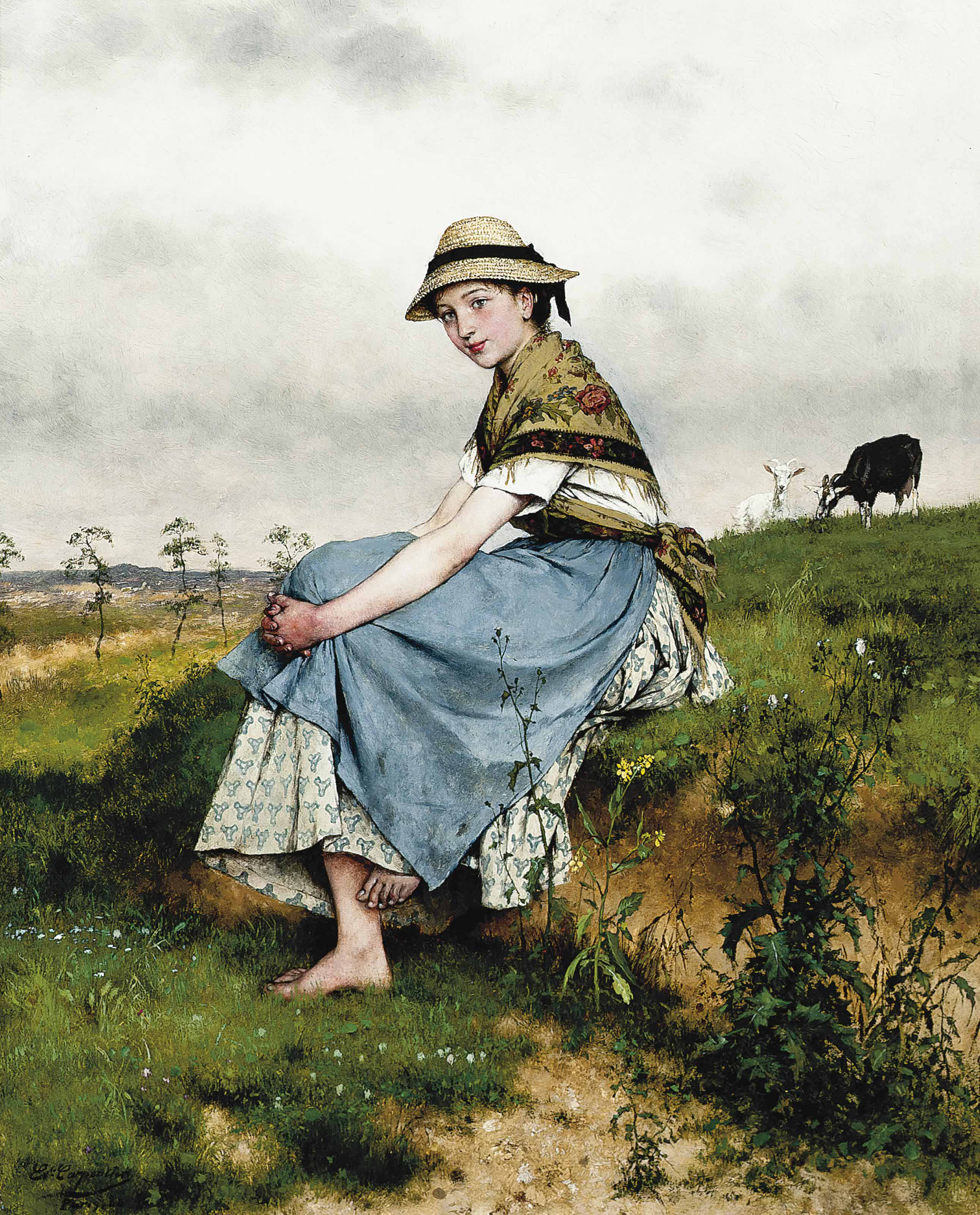 The little goatherd
