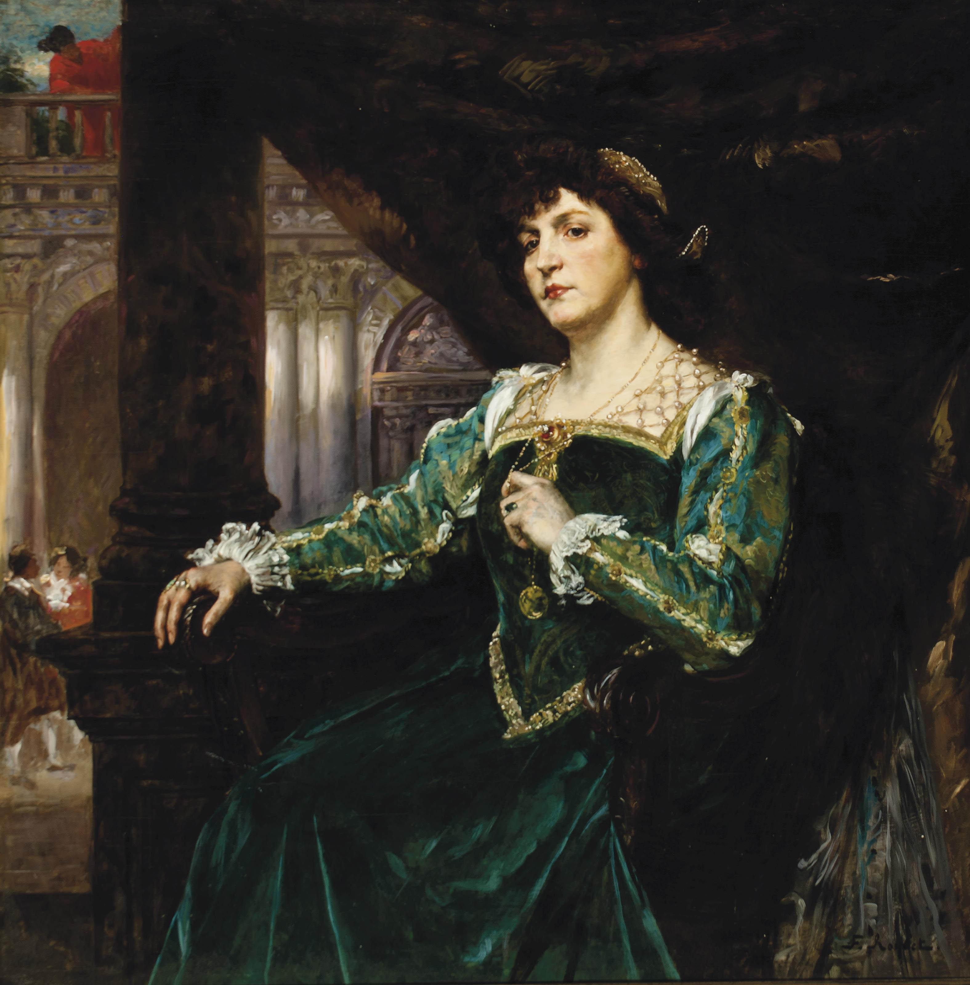 Portrait of Madame Clémenceau