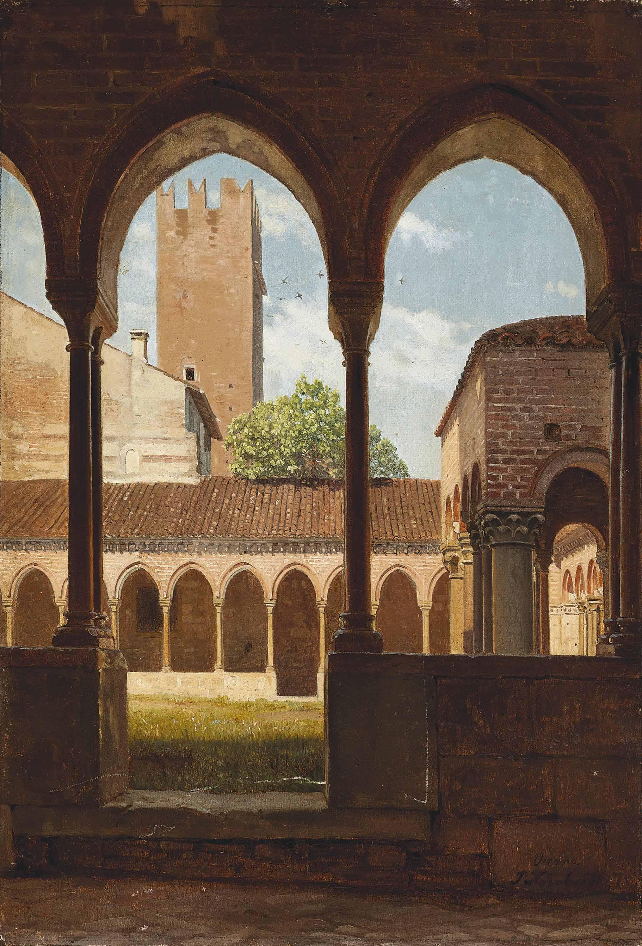 The cloisters of San Zeno, Verona