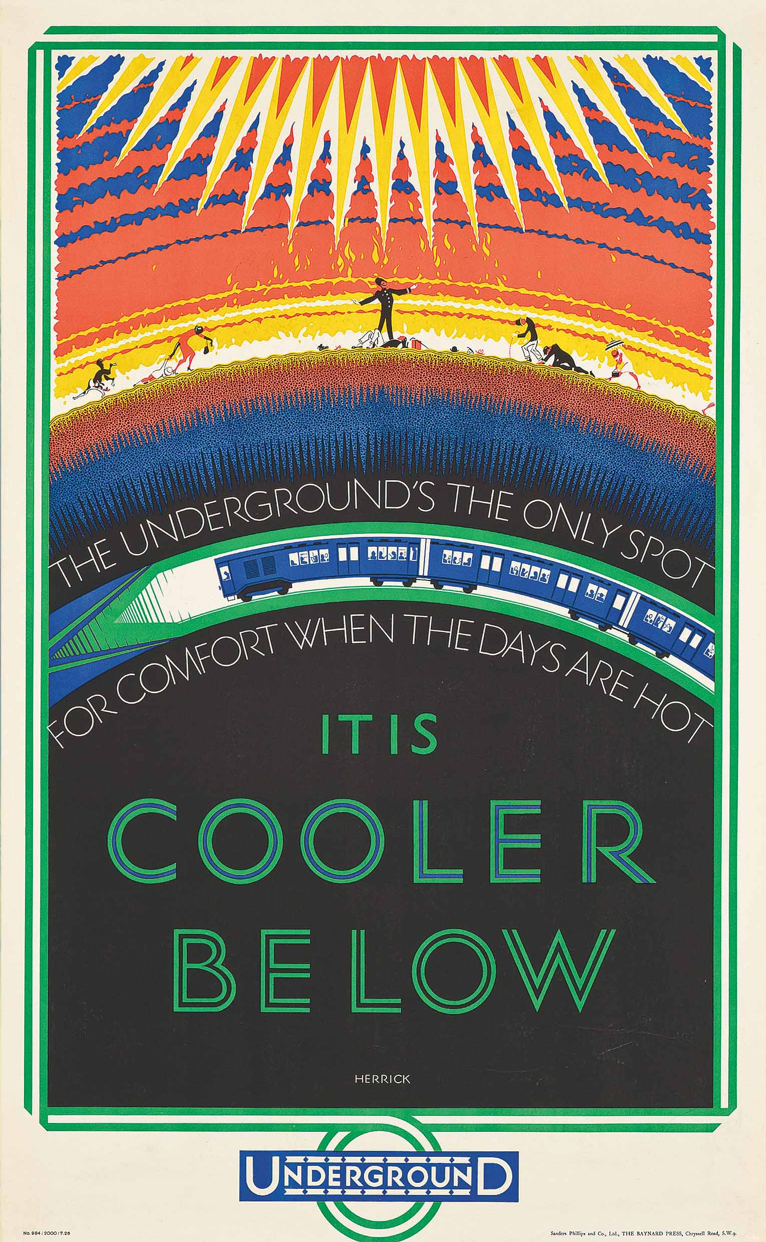 IT IS COOLER BELOW
