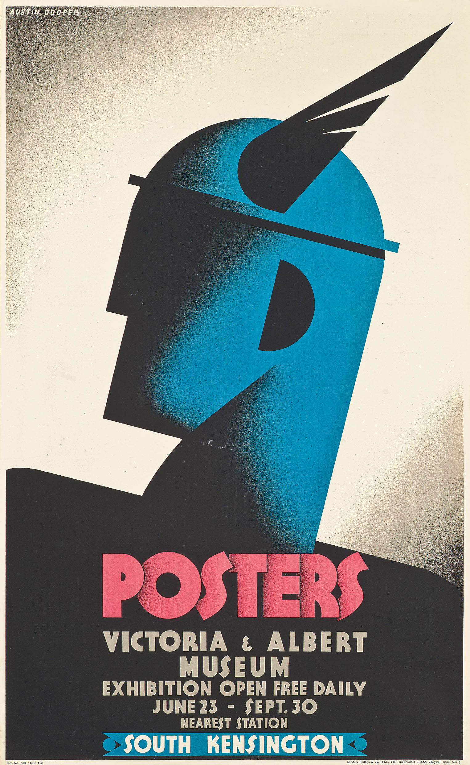 POSTERS AT THE VICTORIA & ALBERT MUSEUM