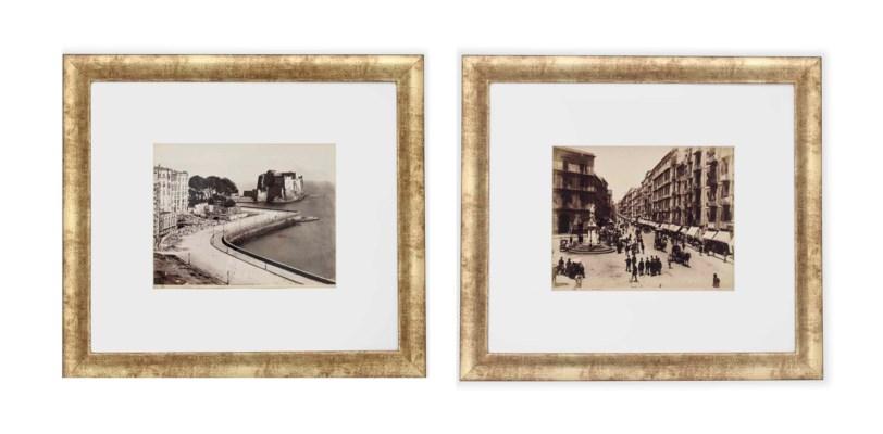 TWELVE PHOTOGRAPHS OF VIEW OF