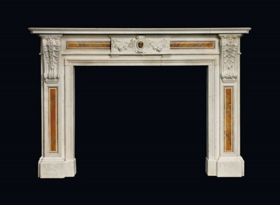 A LATE VICTORIAN WHITE MARBLE