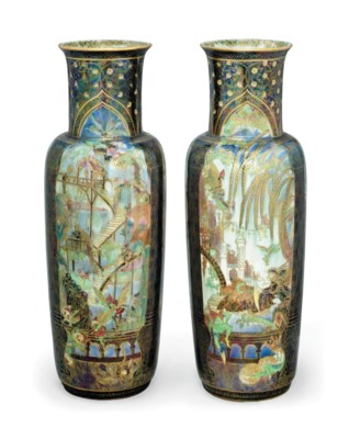 A PAIR OF WEDGWOOD FAIRYLAND L