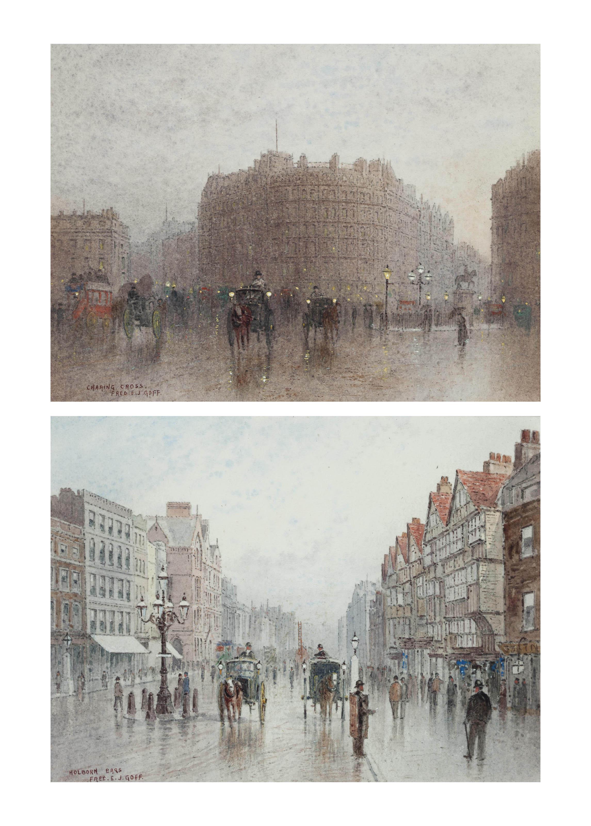 Charing Cross; and Holborn Bars