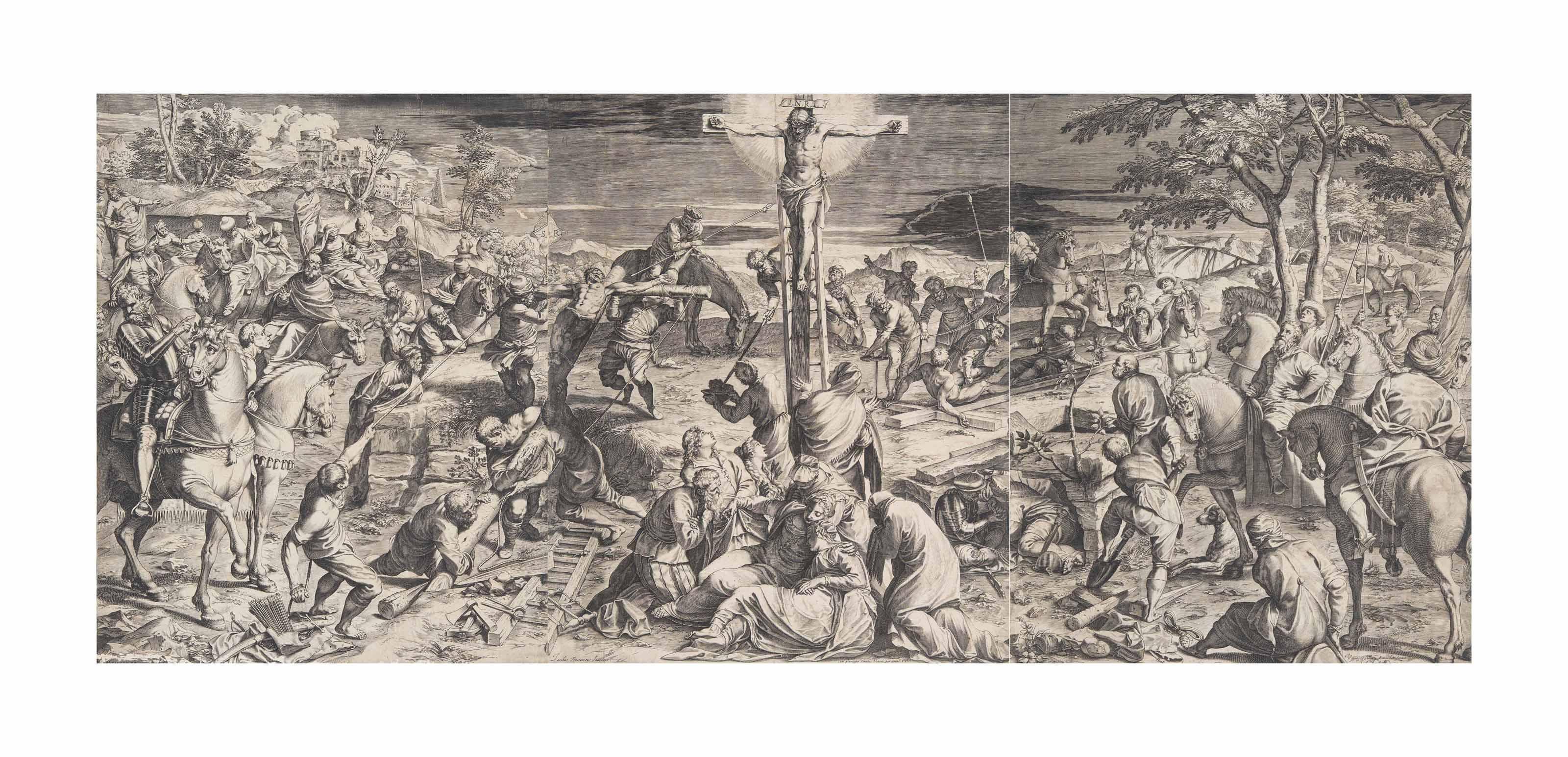 The Crucifixion (Bartsch 23)