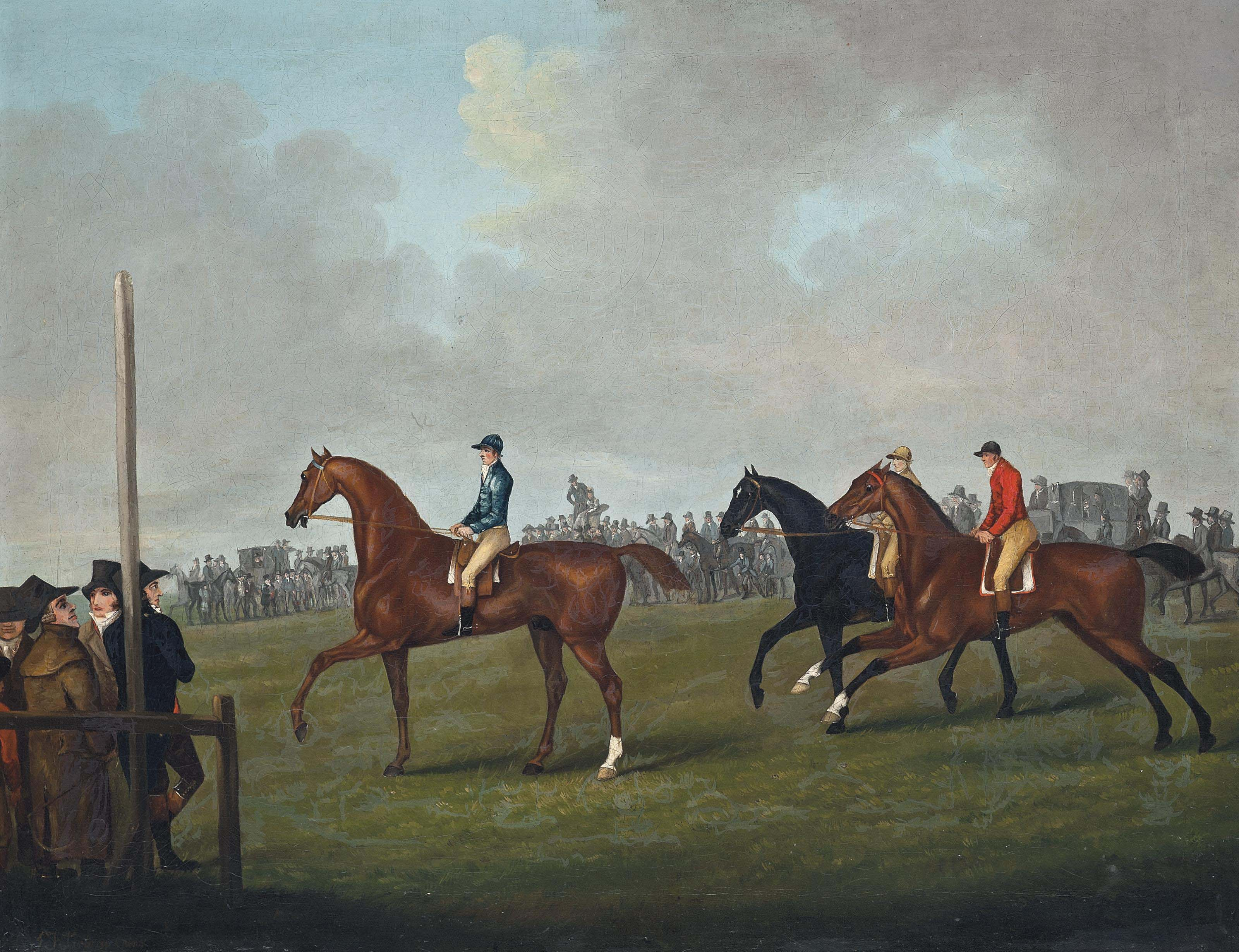 At the start, Newmarket