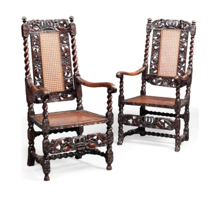 A MATCHED PAIR OF WILLIAM III