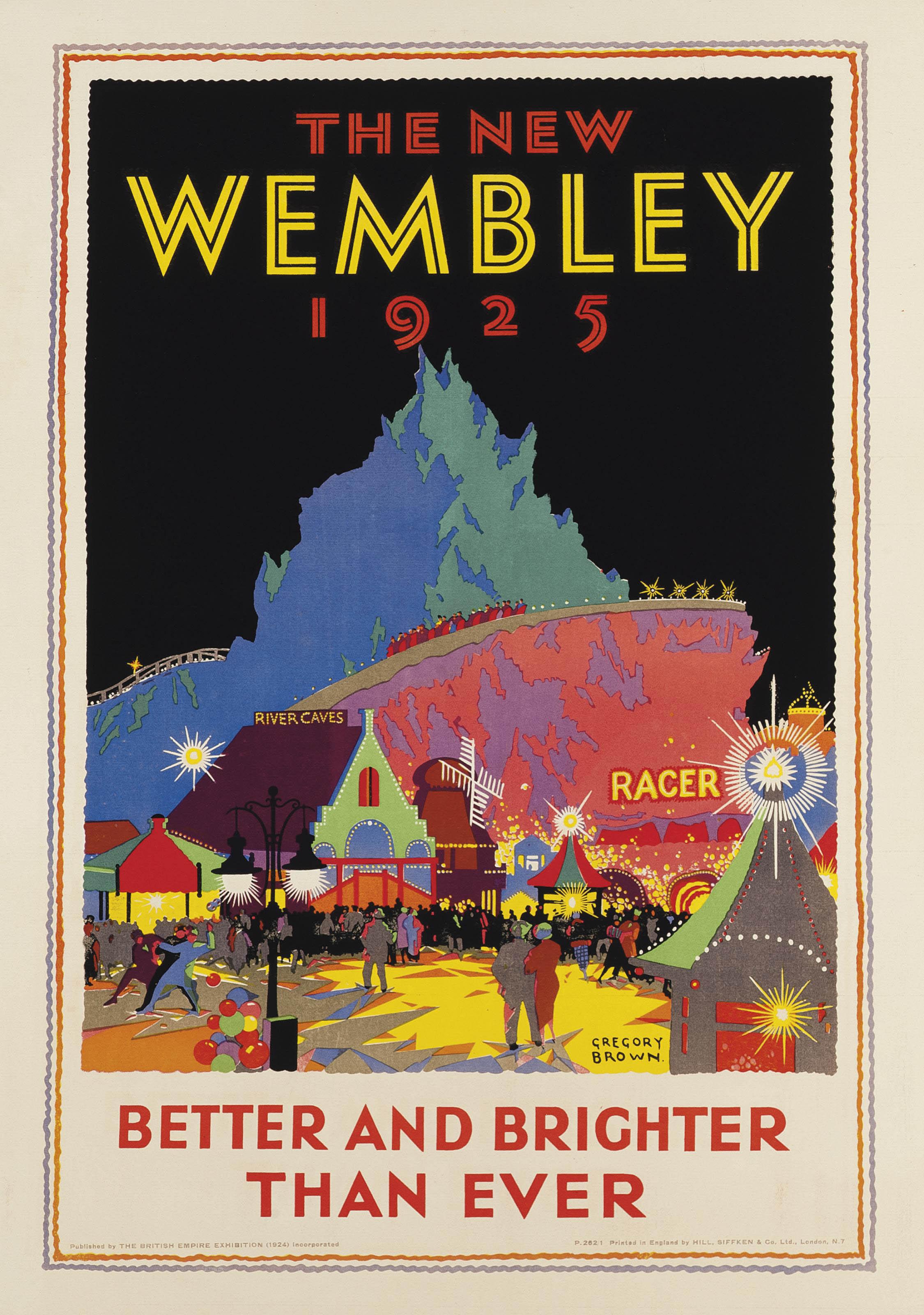 THE NEW WEMBLEY 1925