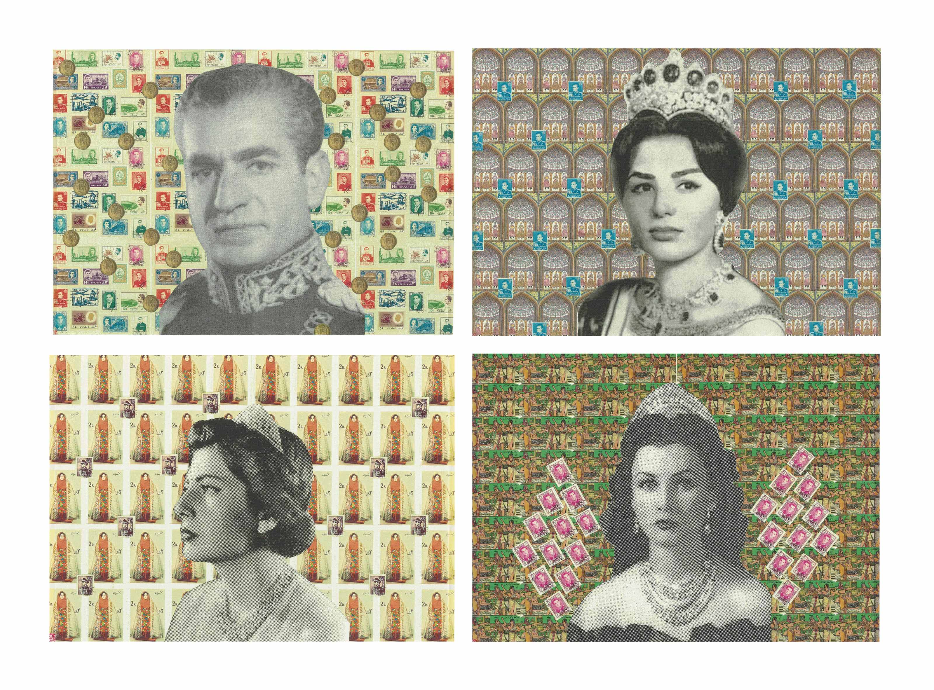 The Shah and his Three Queens (from the Fairytale Icons series)
