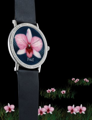 PIAGET. A RARE AND UNIQUE 18K