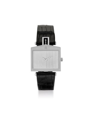 CORUM. AN 18K WHITE GOLD LIMIT