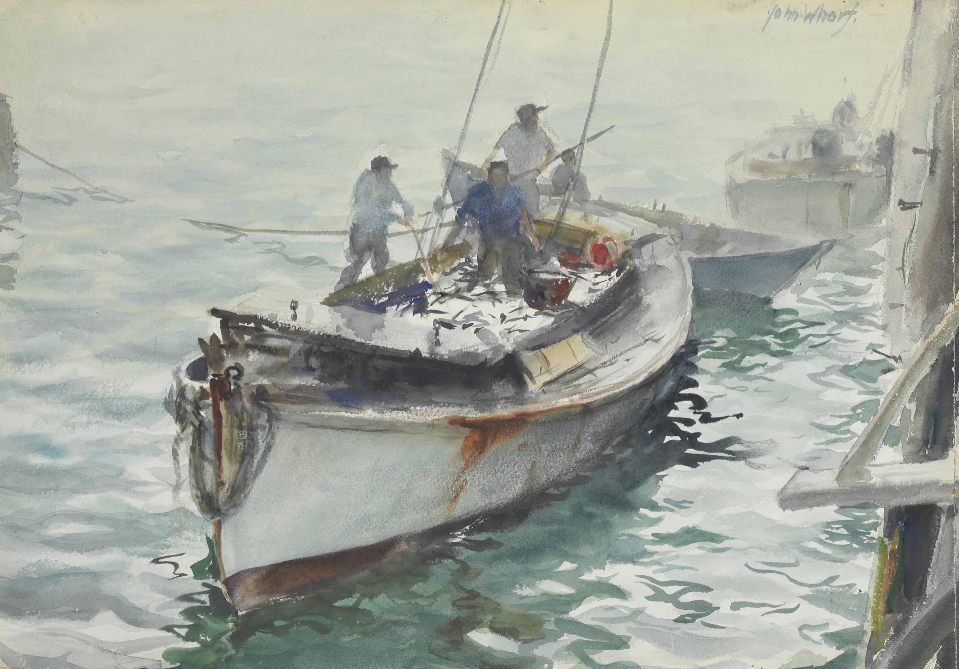 Fishermen in Dory