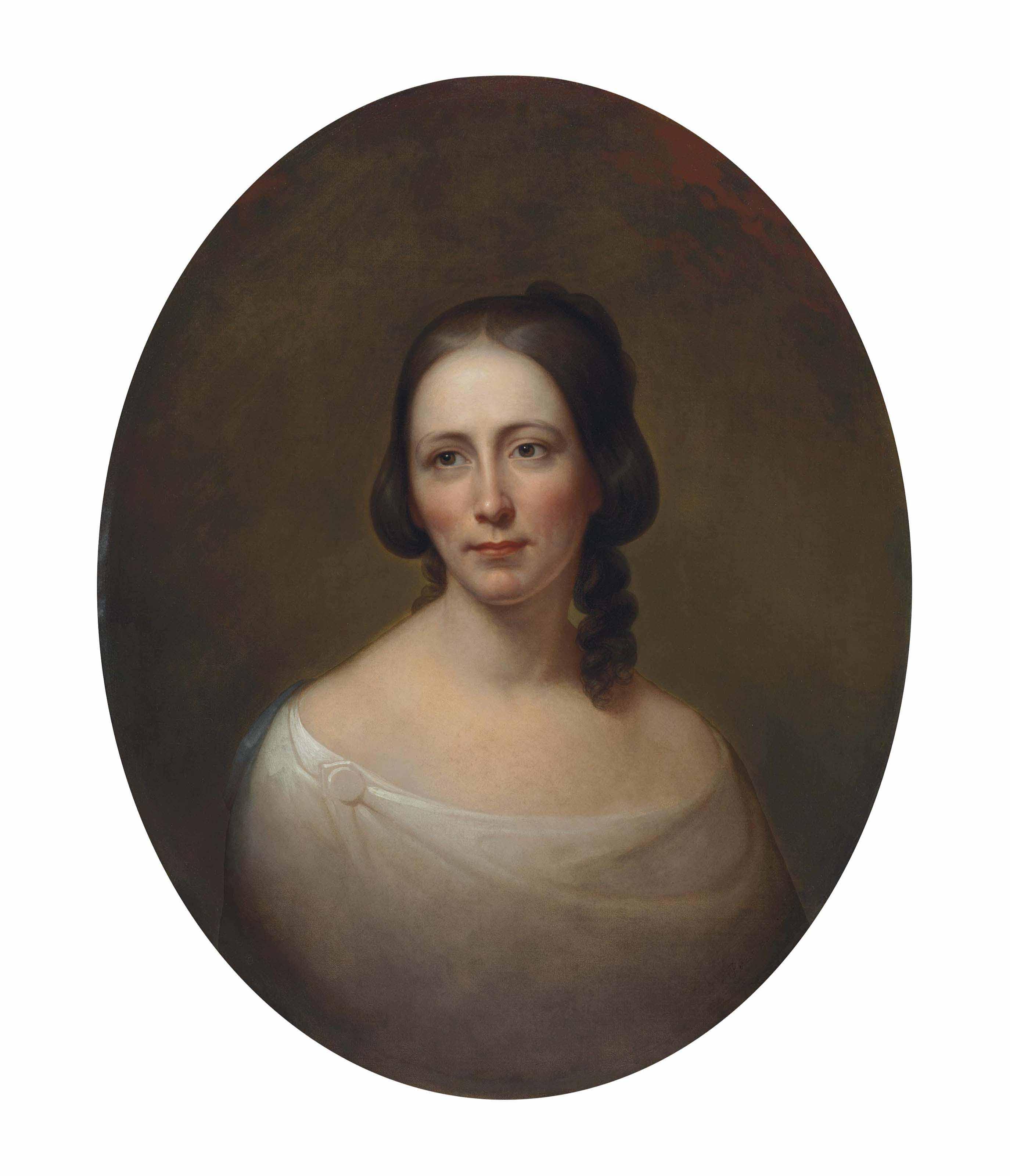 Portrait of Amelia Priestman