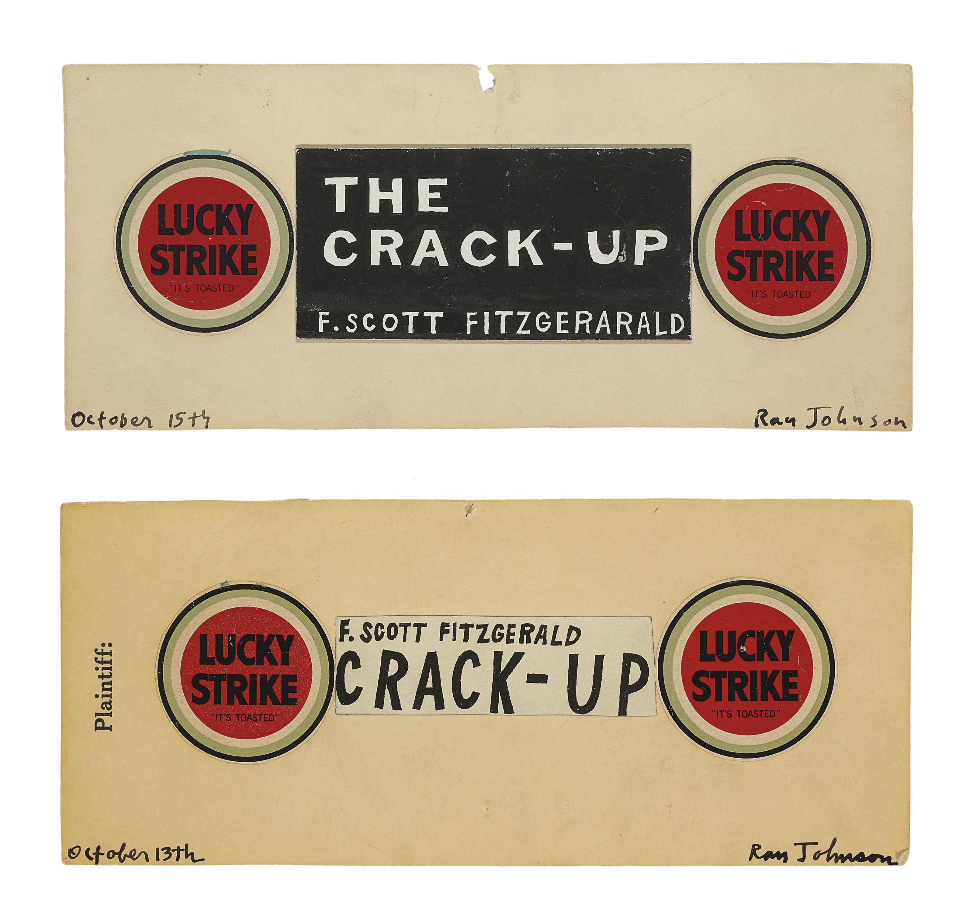 Untitled (F. Scott Fitzgerald Lucky)