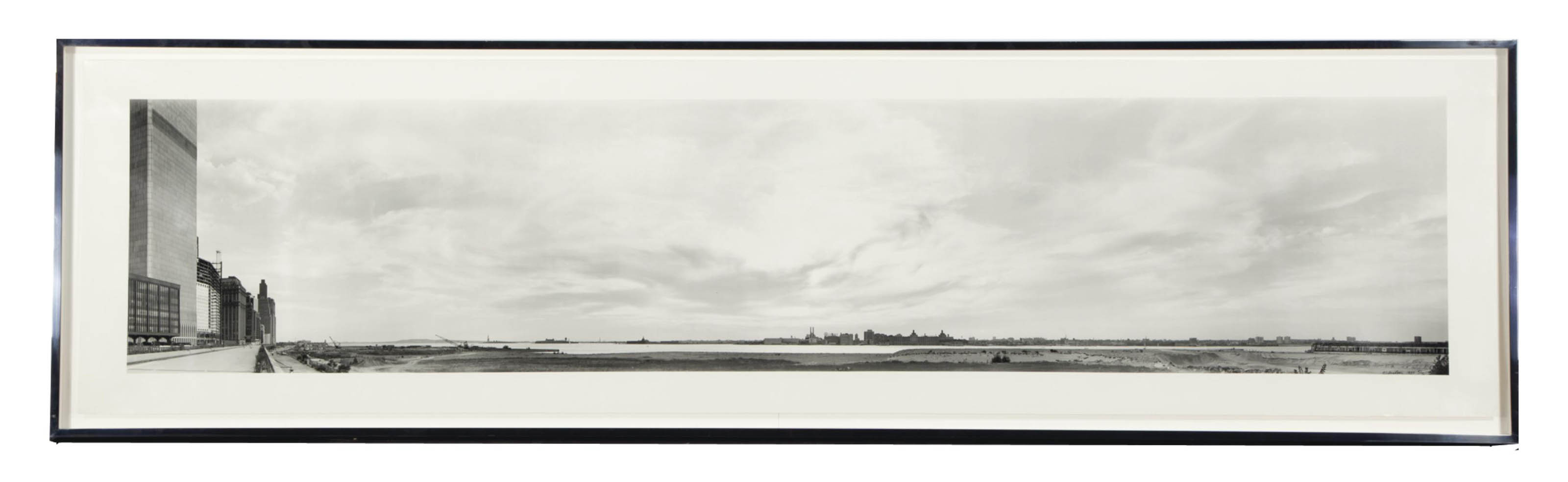 Untitled (NY and Hudson River with Statue of Liberty), 1980