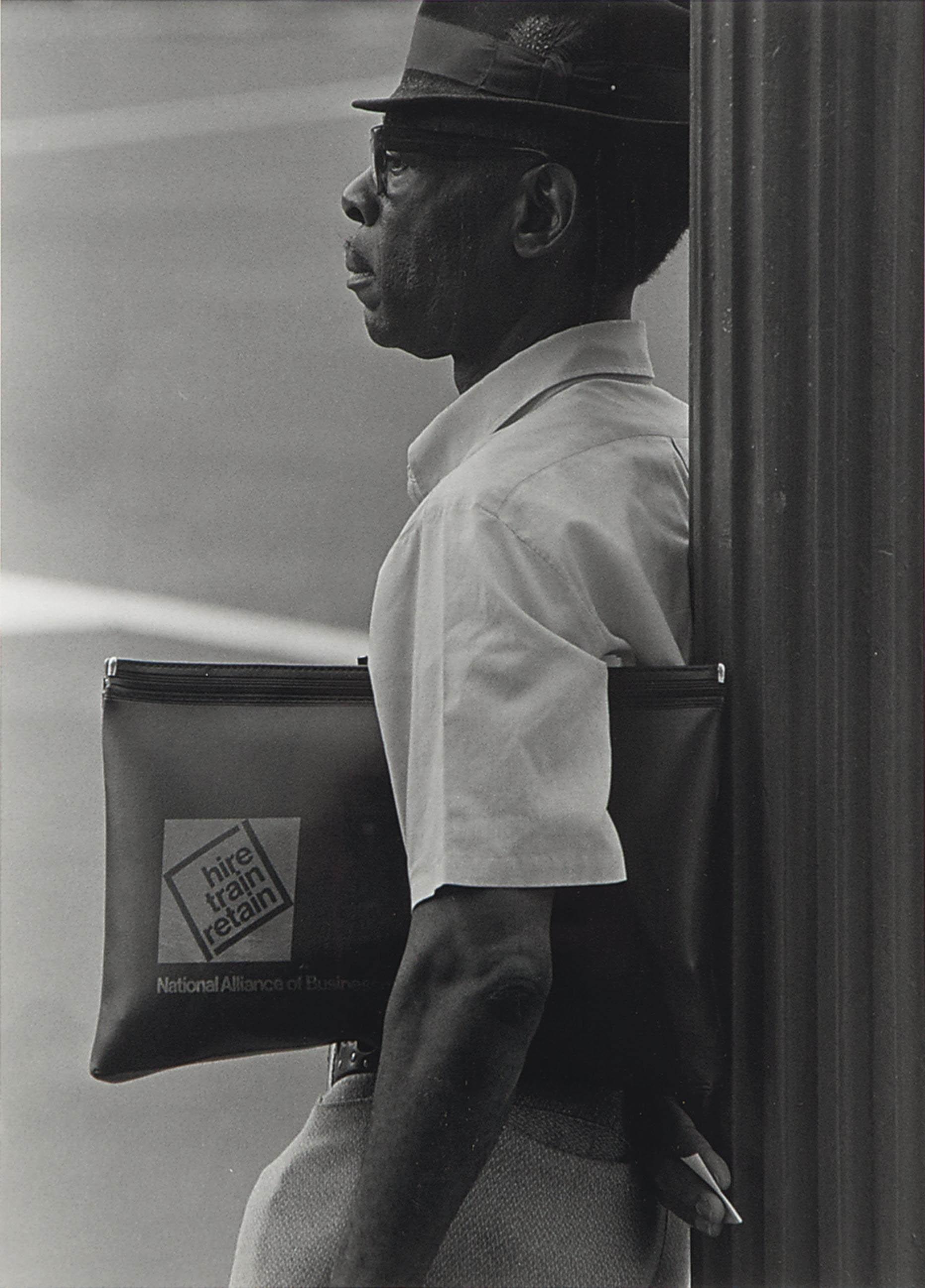 Untitled (Man with portfolio)