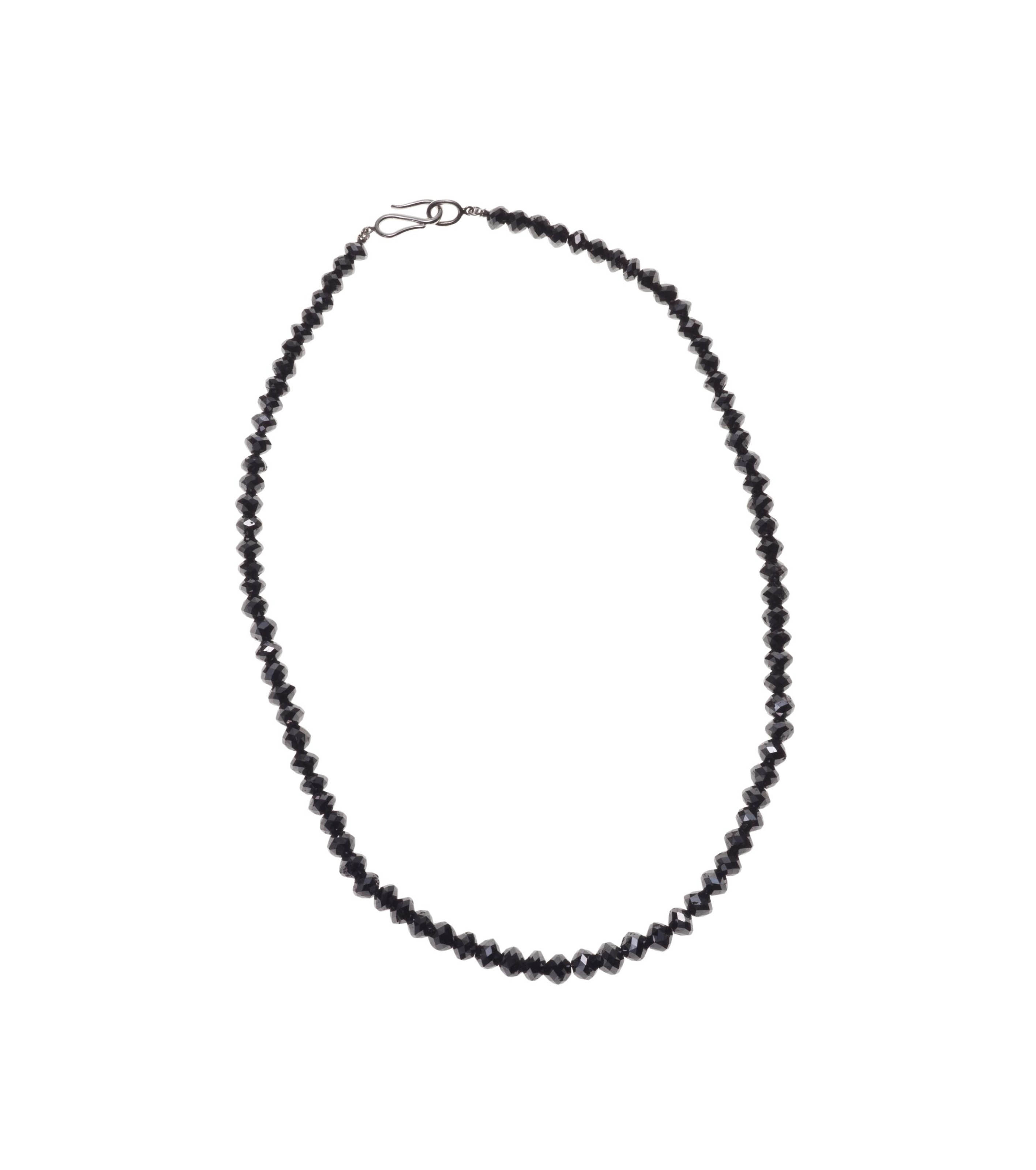 A COLORED DIAMOND NECKLACE, BY JULIUS COHEN