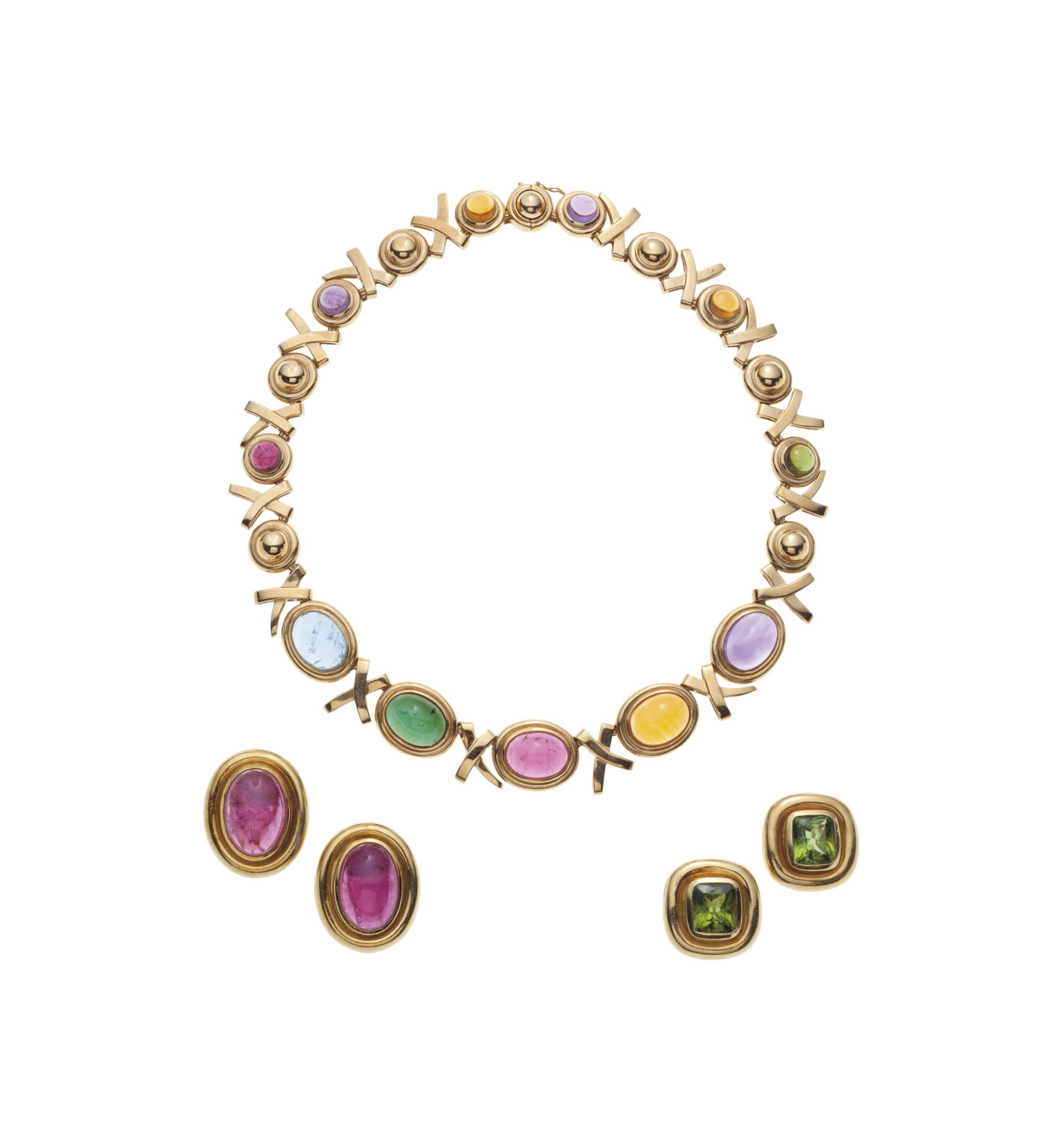 A GROUP OF MULTI-GEM JEWELRY, BY PALOMA PICASSO, TIFFANY & CO.