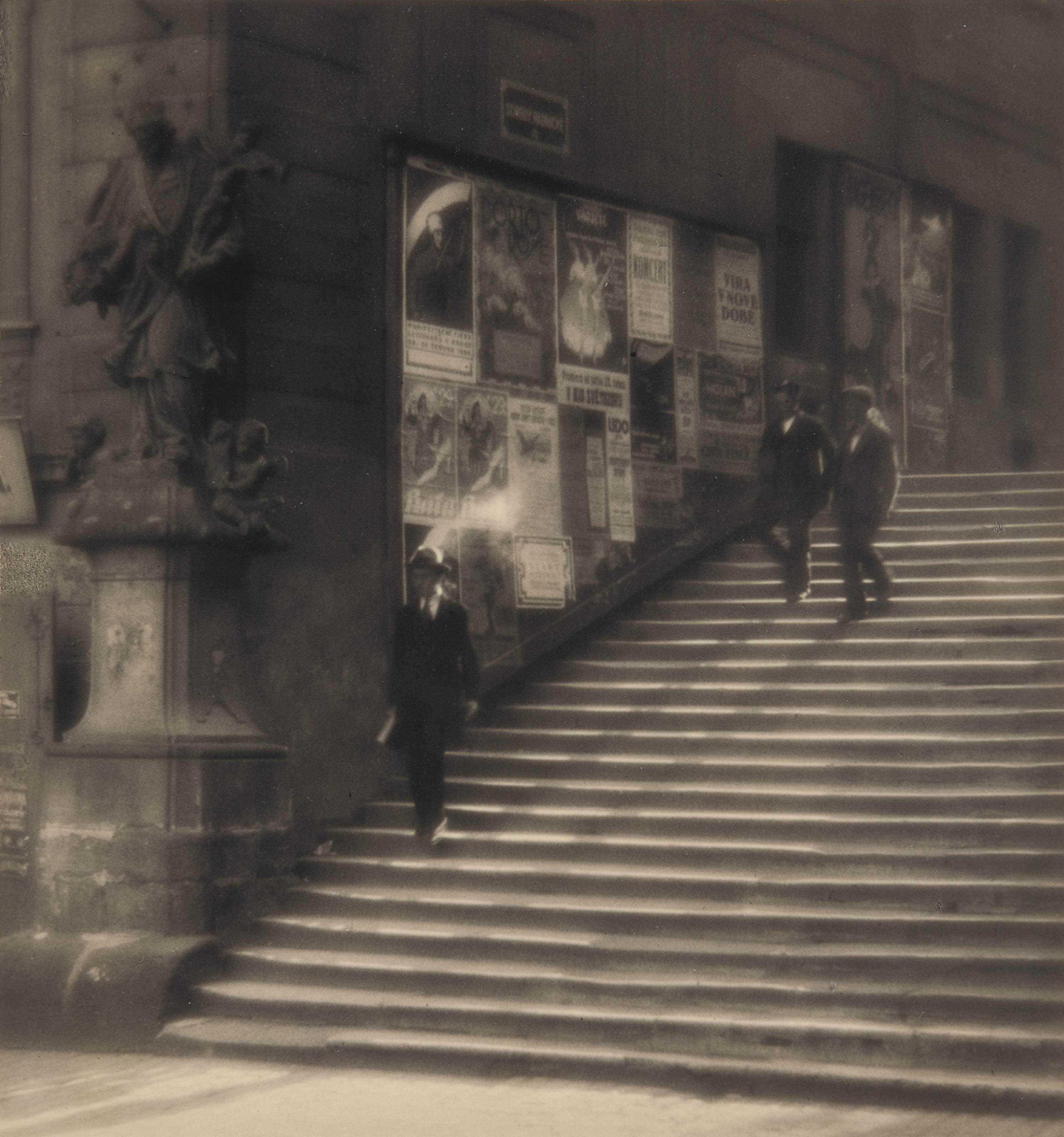 Staircase of Old Prague, 1924